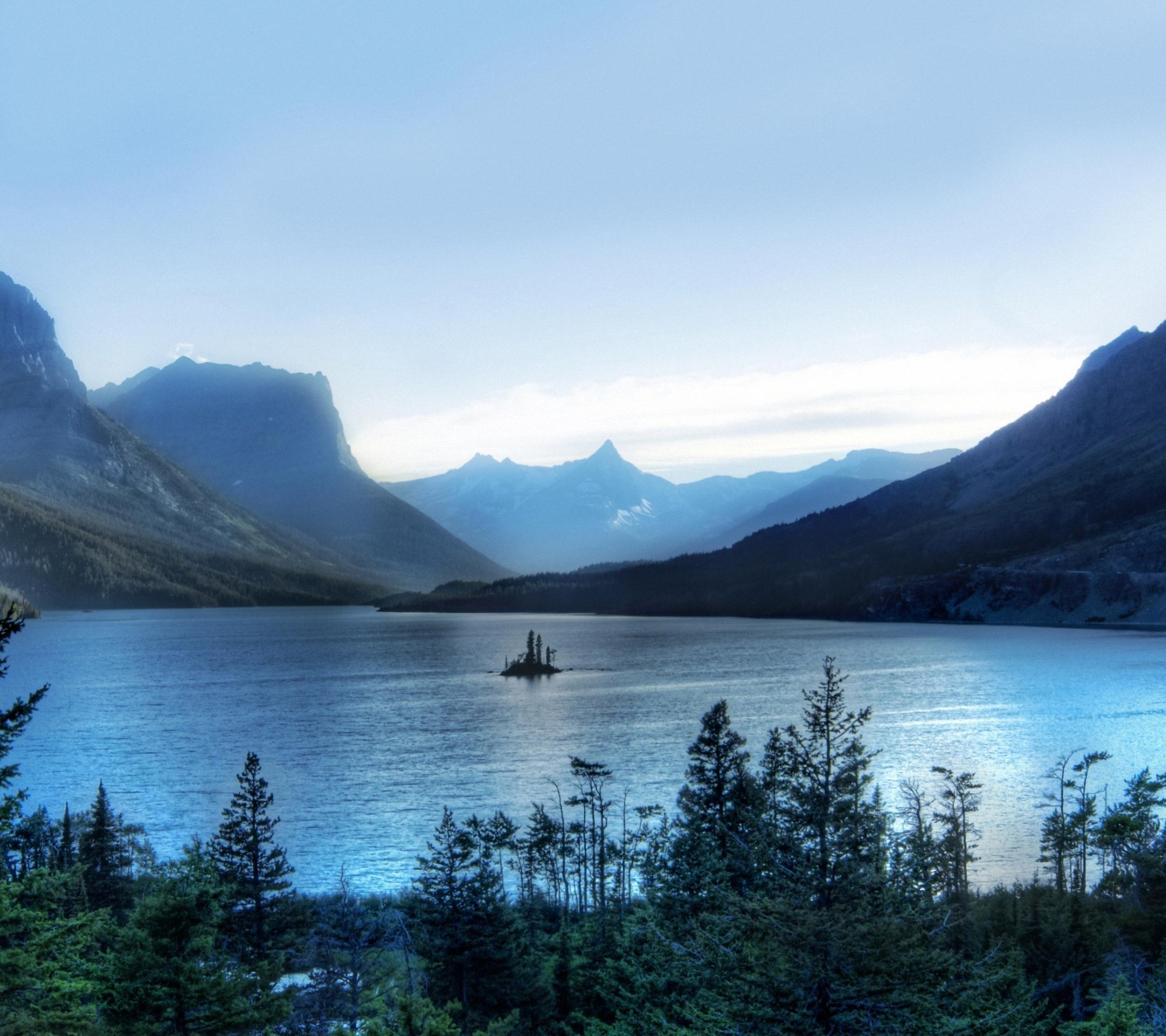Morning At Glacier National Park sony xperia z Wallpapers HD 2160x1920