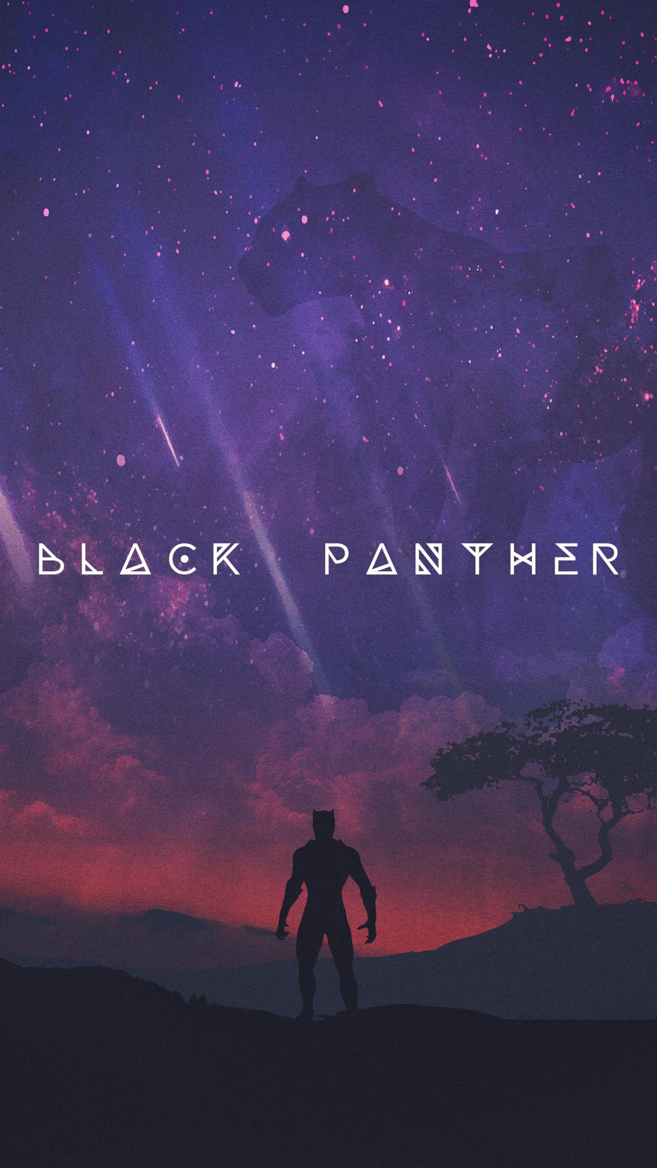 2160x3840 Black Panther Movie Artwork 2018 Sony Xperia X,XZ,Z5