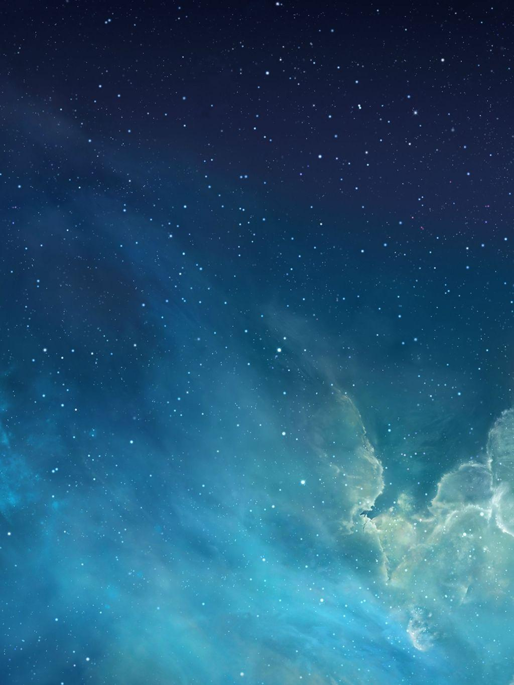 Download iOS 7 starry wallpapers [1536x2048] Iwallpapers Wallpapers