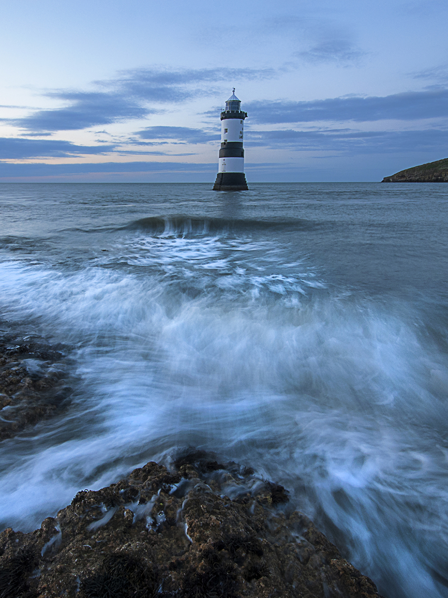 Wallpapers United Kingdom Anglesey Sea Nature Lighthouses 1536x2048