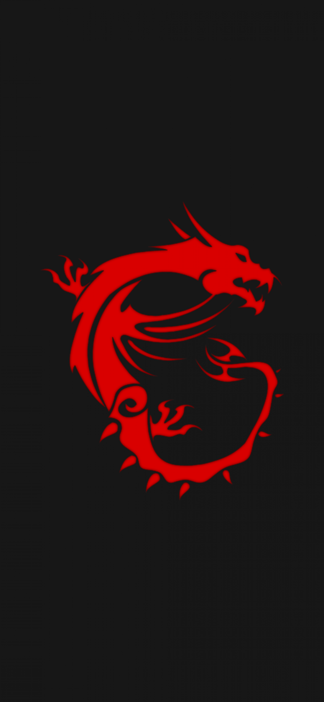 Download 1125x2436 Msi, Dragon, Logo Wallpapers for iPhone X
