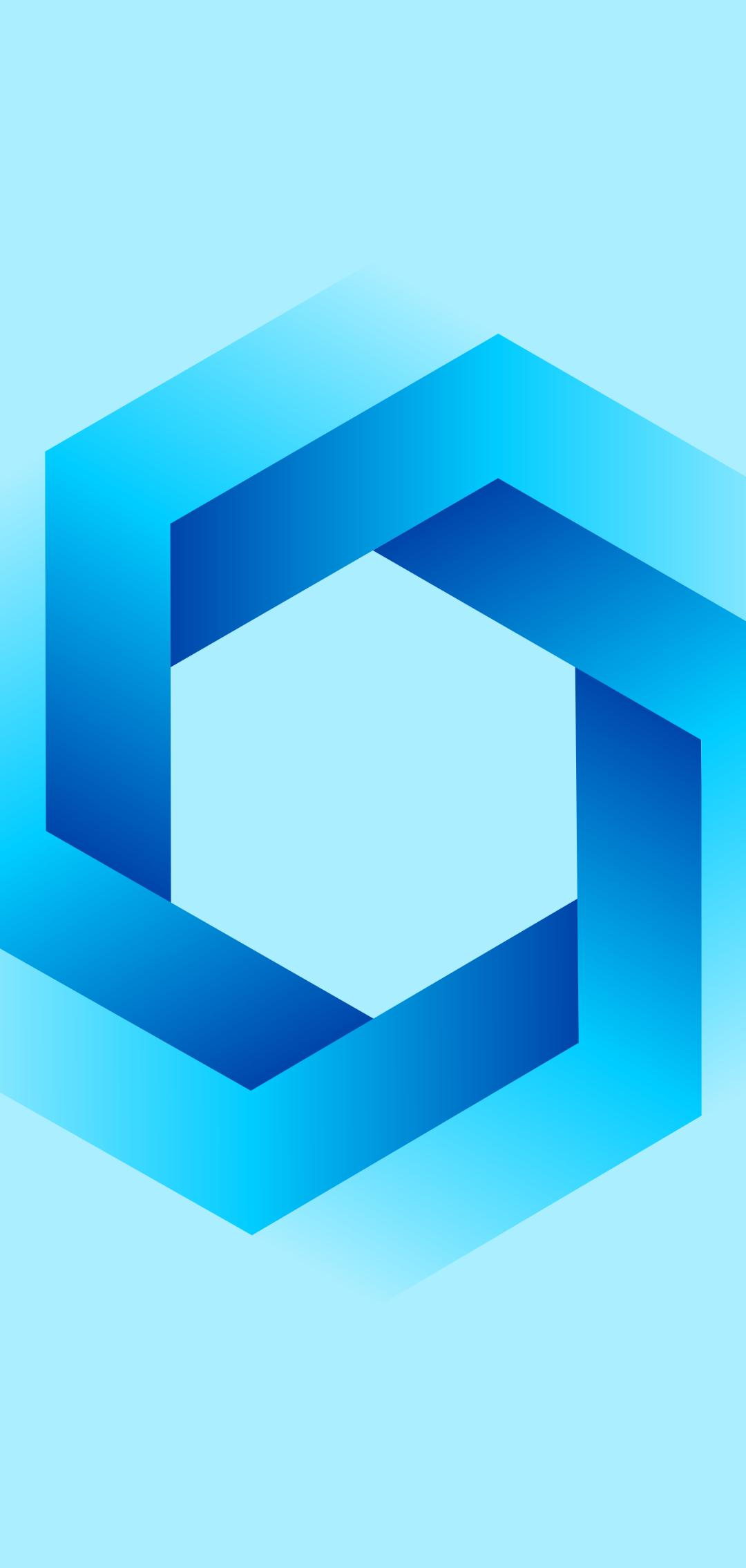1080x2270 Azure Hexagon 1080x2270 Resolution Wallpaper, HD Artist 4K