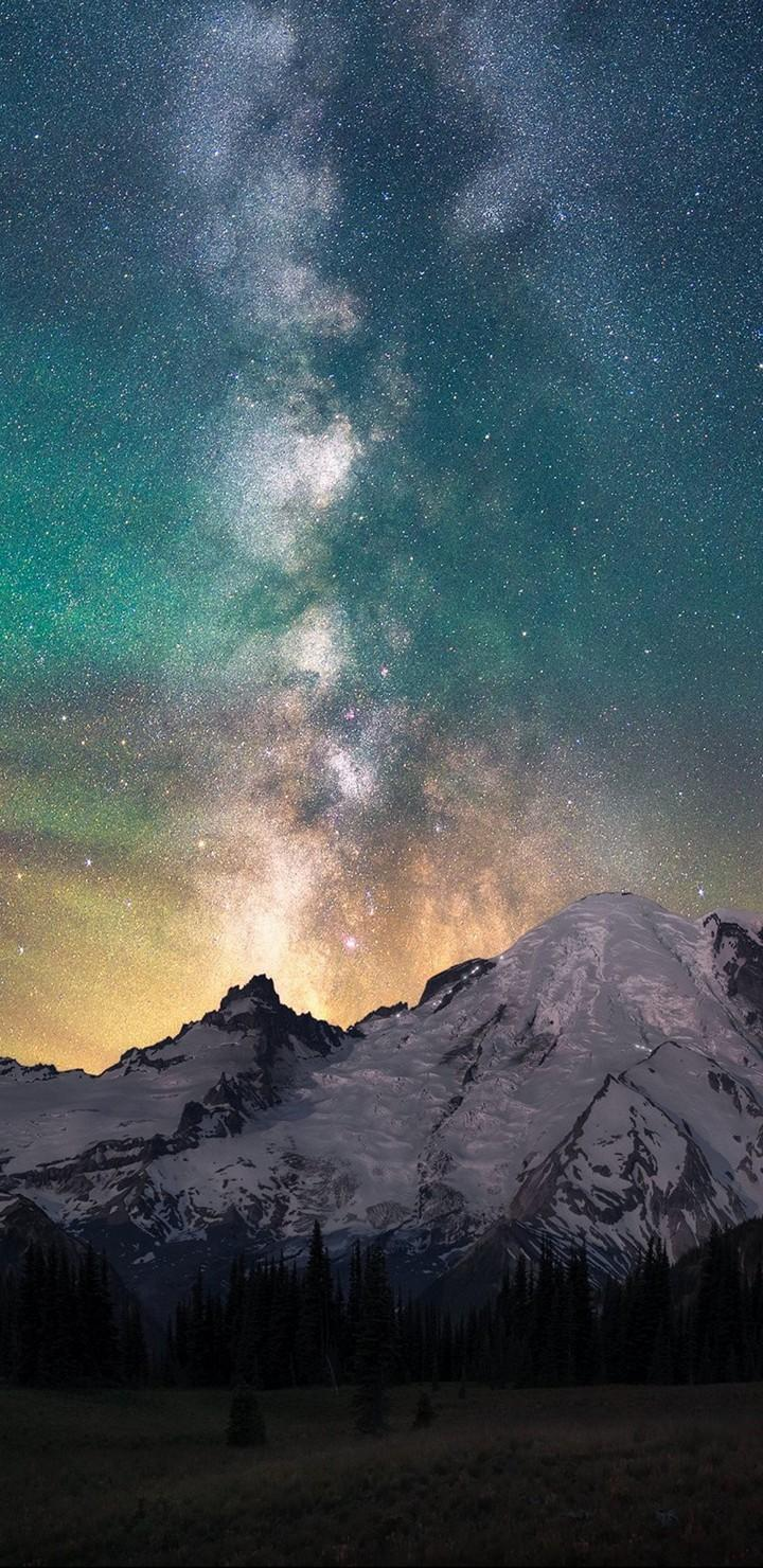Montain Galaxy Wallpapers