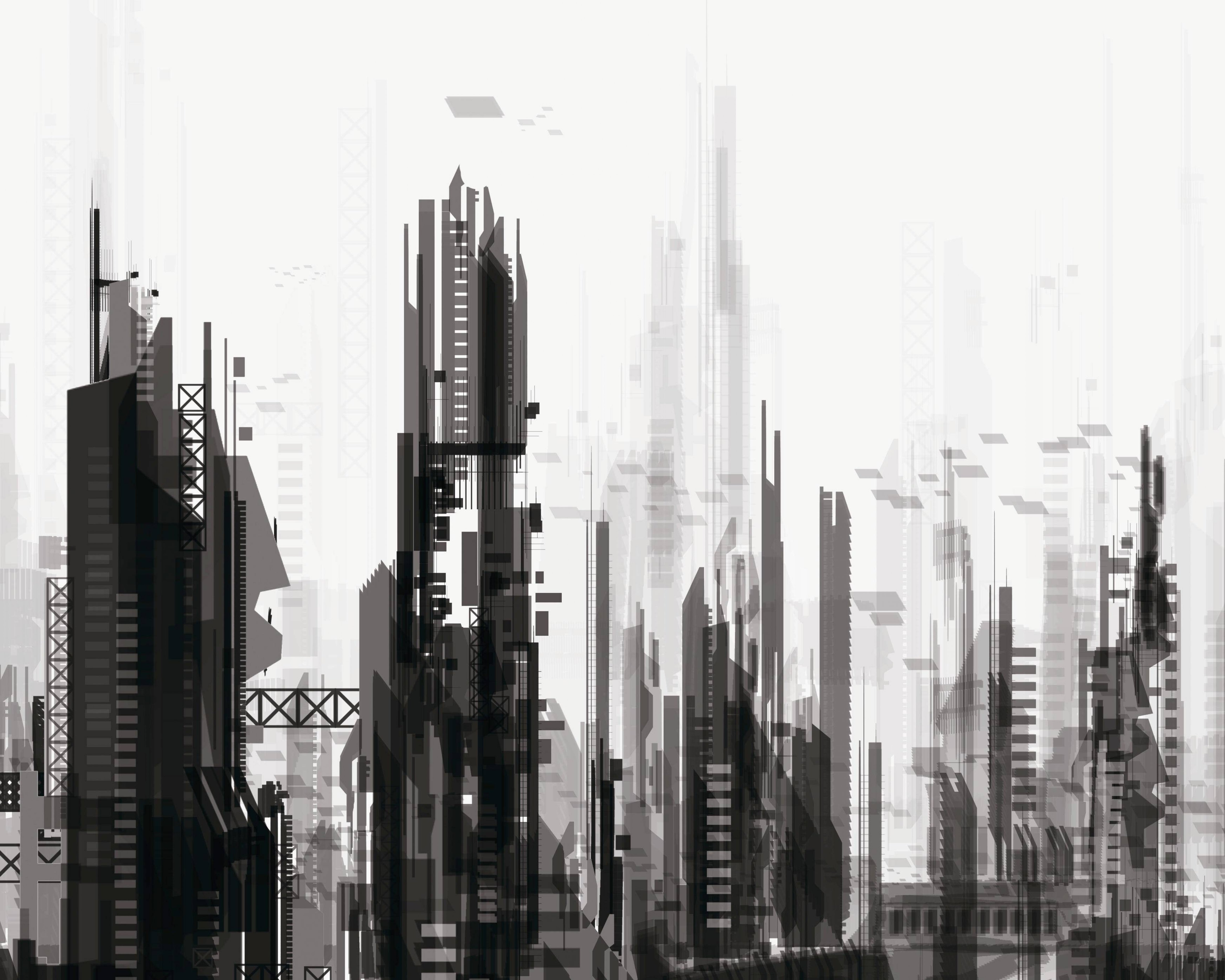 sci fi, City, Cities, Artwork, Art, Futuristic Wallpapers HD
