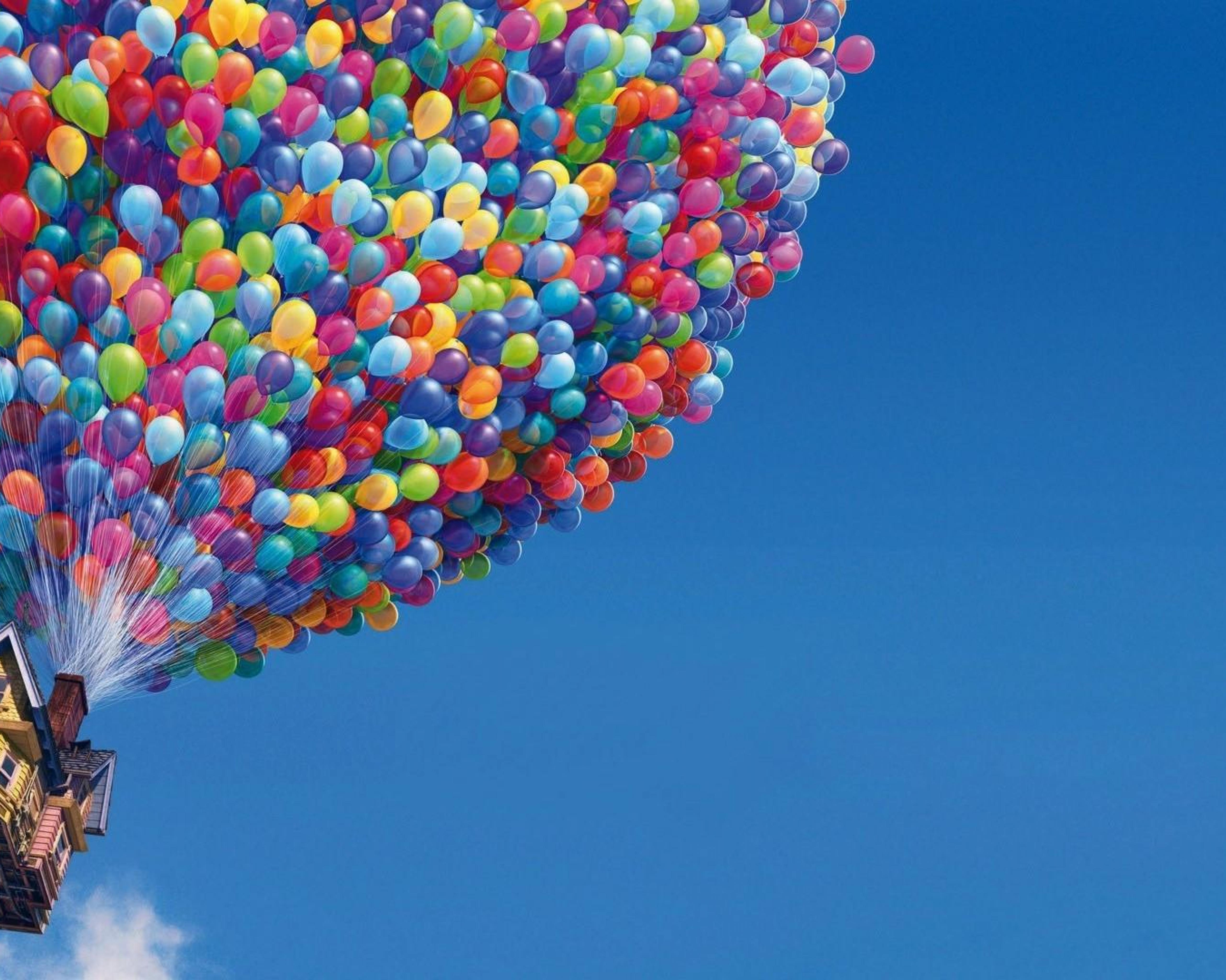 Download House with balloons up Pixar Cartoons Up HD Wallpapers