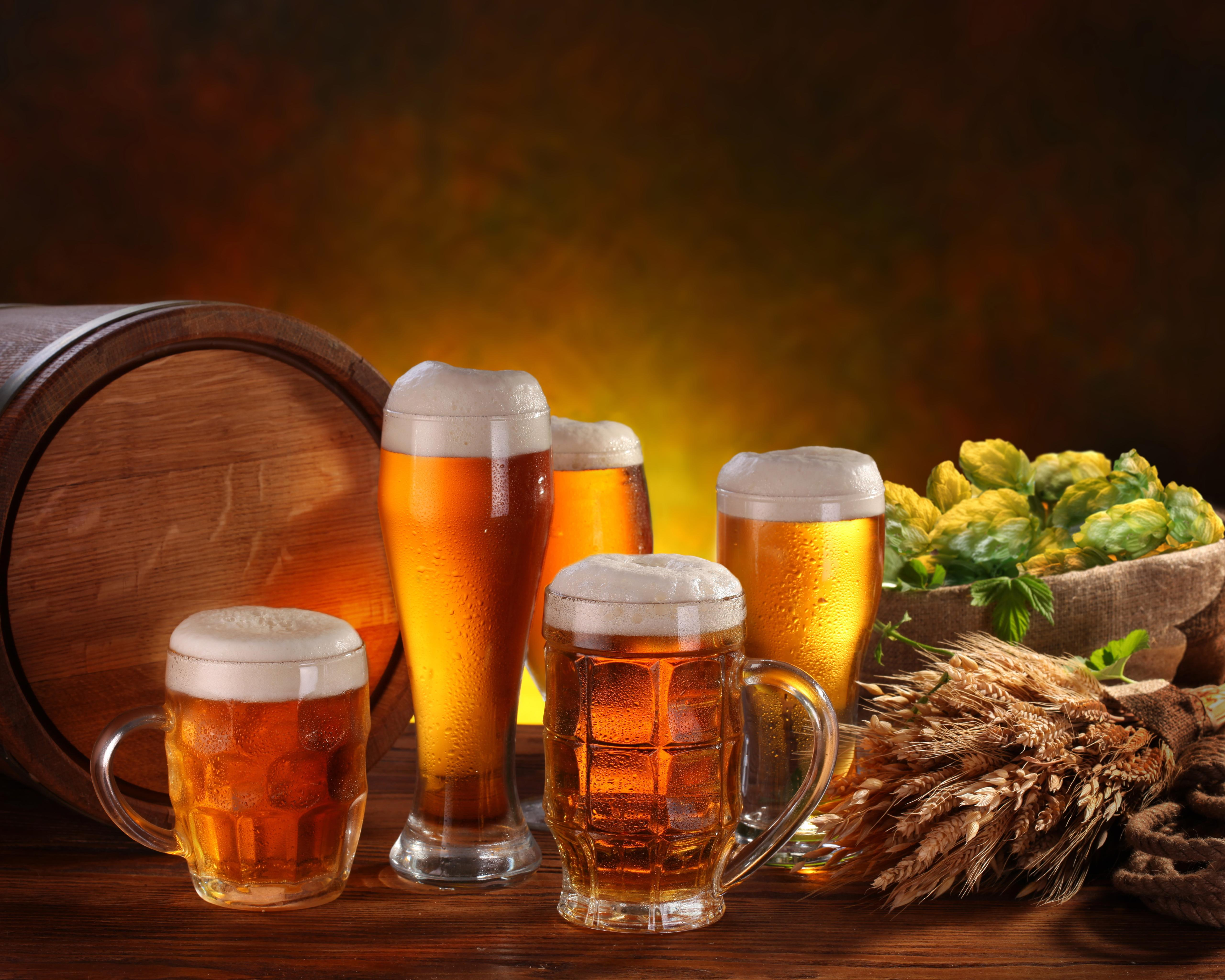 Beer Pints 5K UHD 5:4 5120x4096 Wallpapers