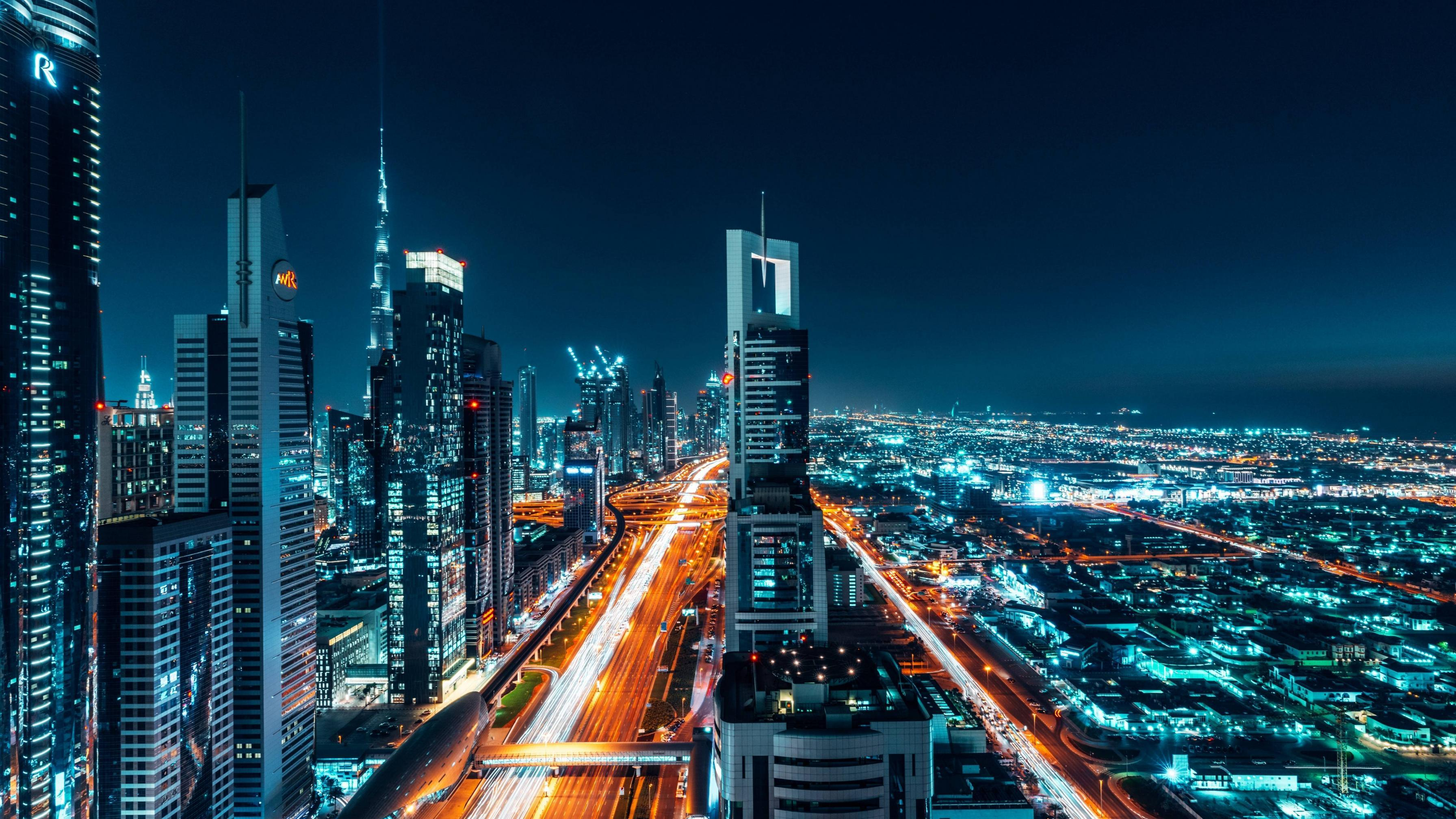 Download 5120x2880 wallpapers dubai, city, buildings, cityscape