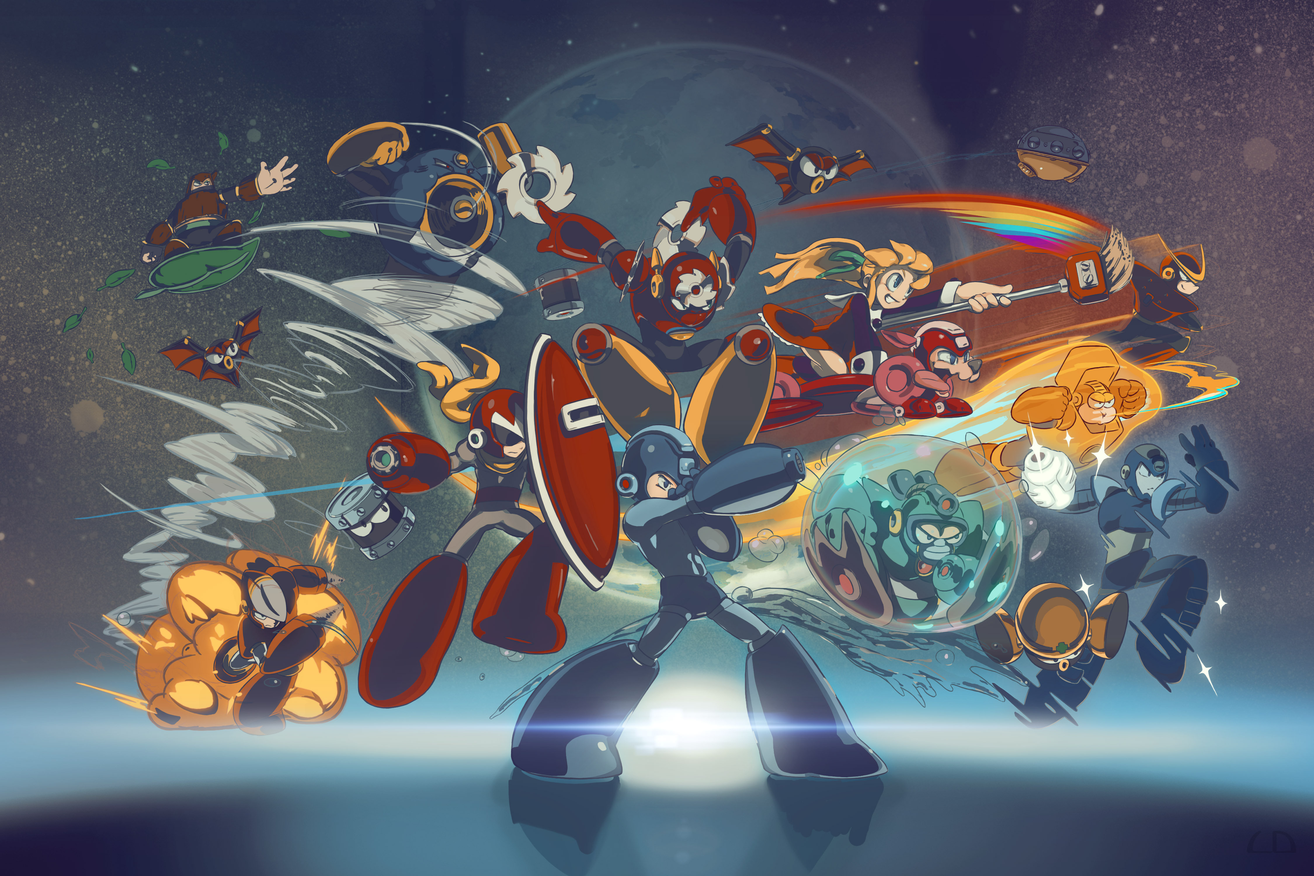 Download Mega man wallpapers 4500x3000 16611 WallpaperUP [4500x3000
