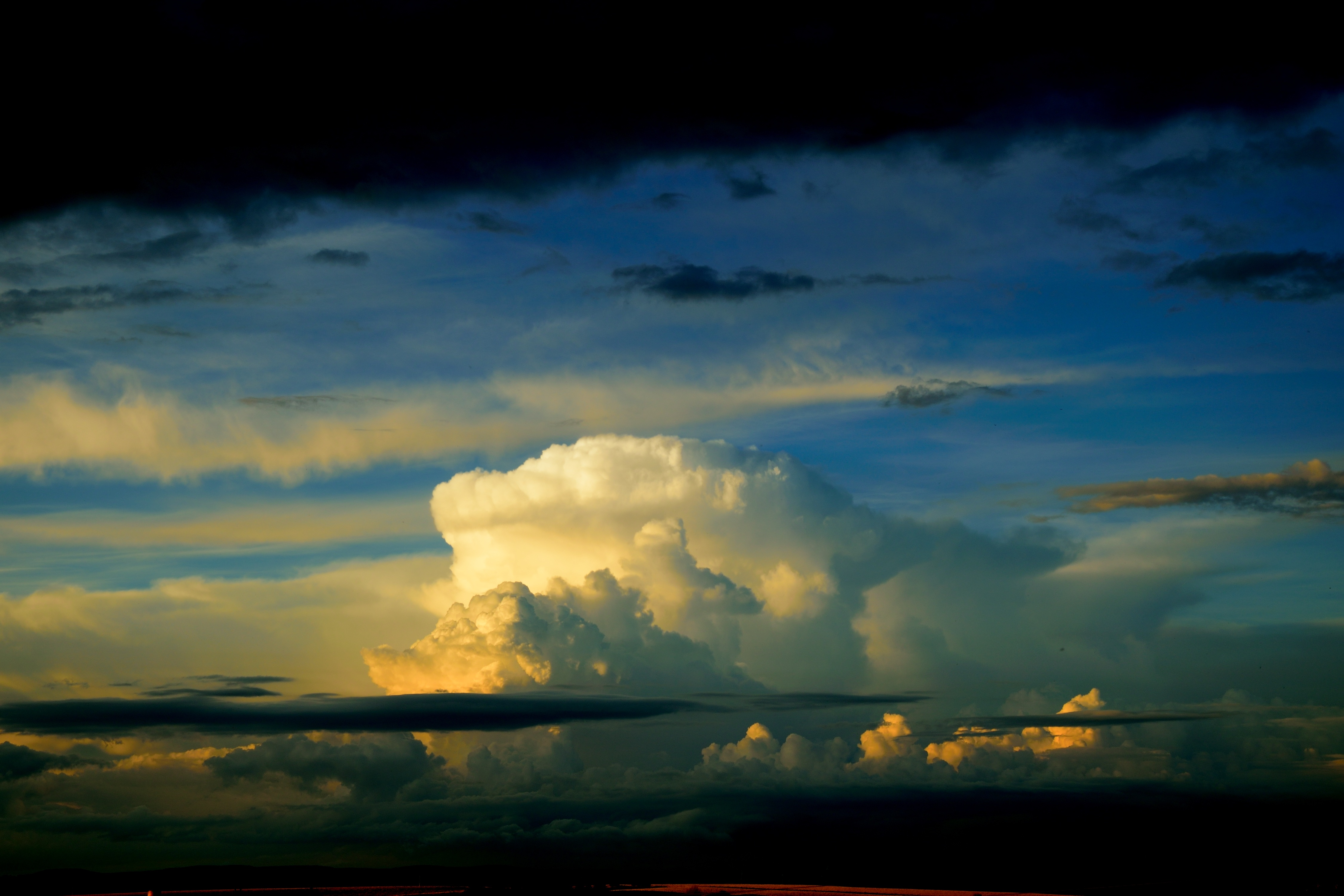 Download wallpapers 4500x3000 sky, clouds, overcast hd backgrounds