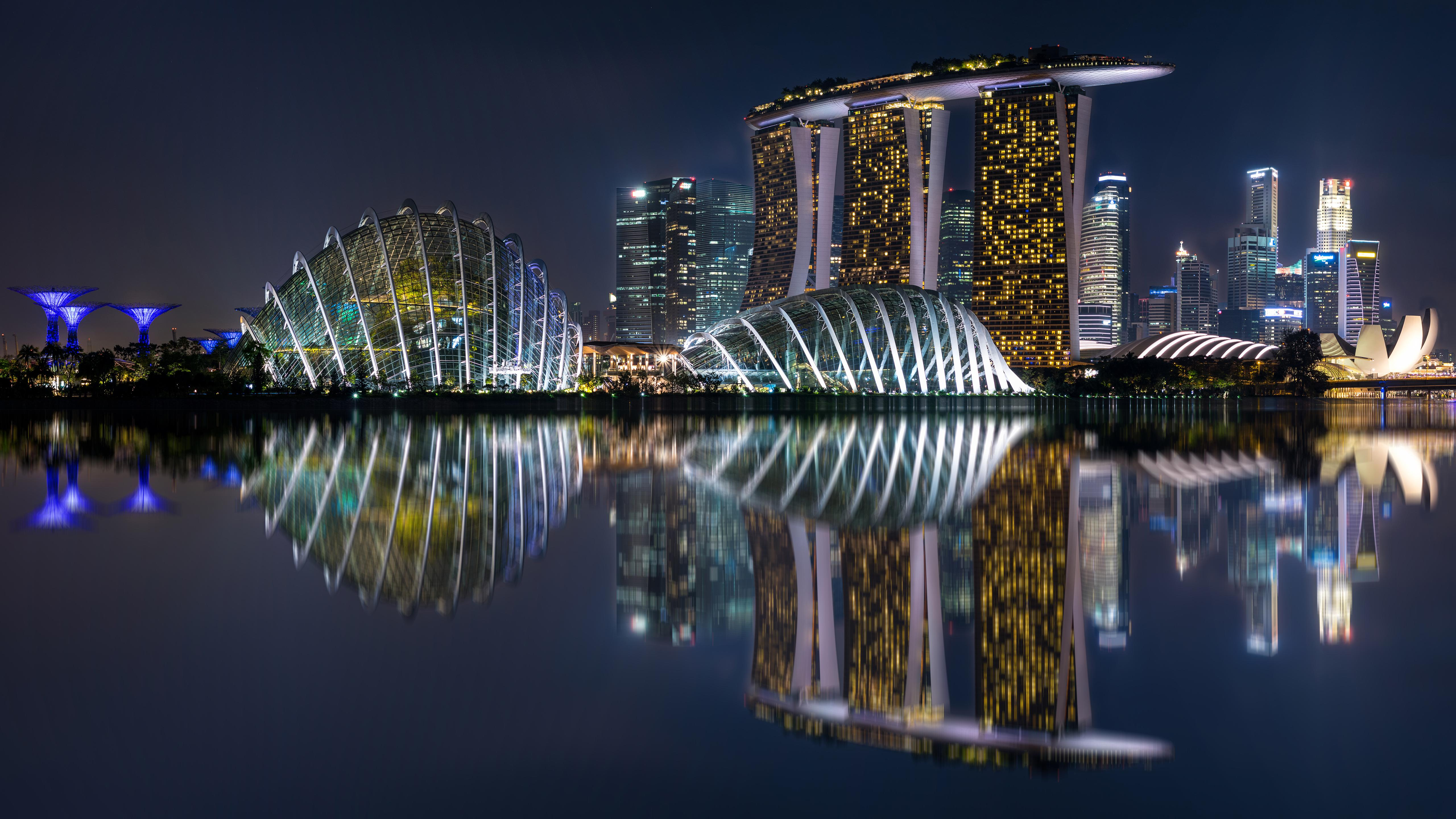 Marina Bay Sands 5k Retina Ultra HD Wallpapers