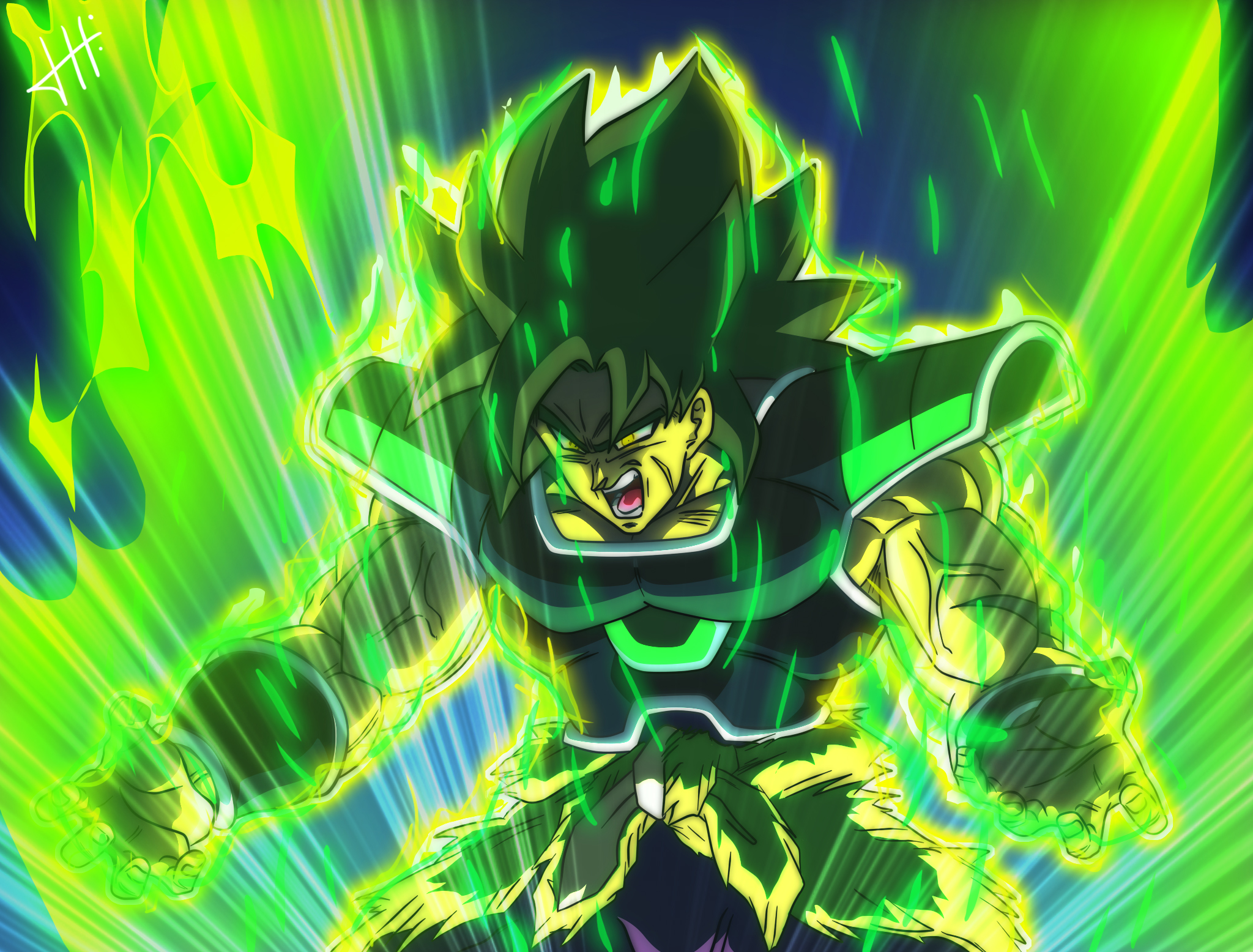 Broly SSG 1 HD Wallpapers