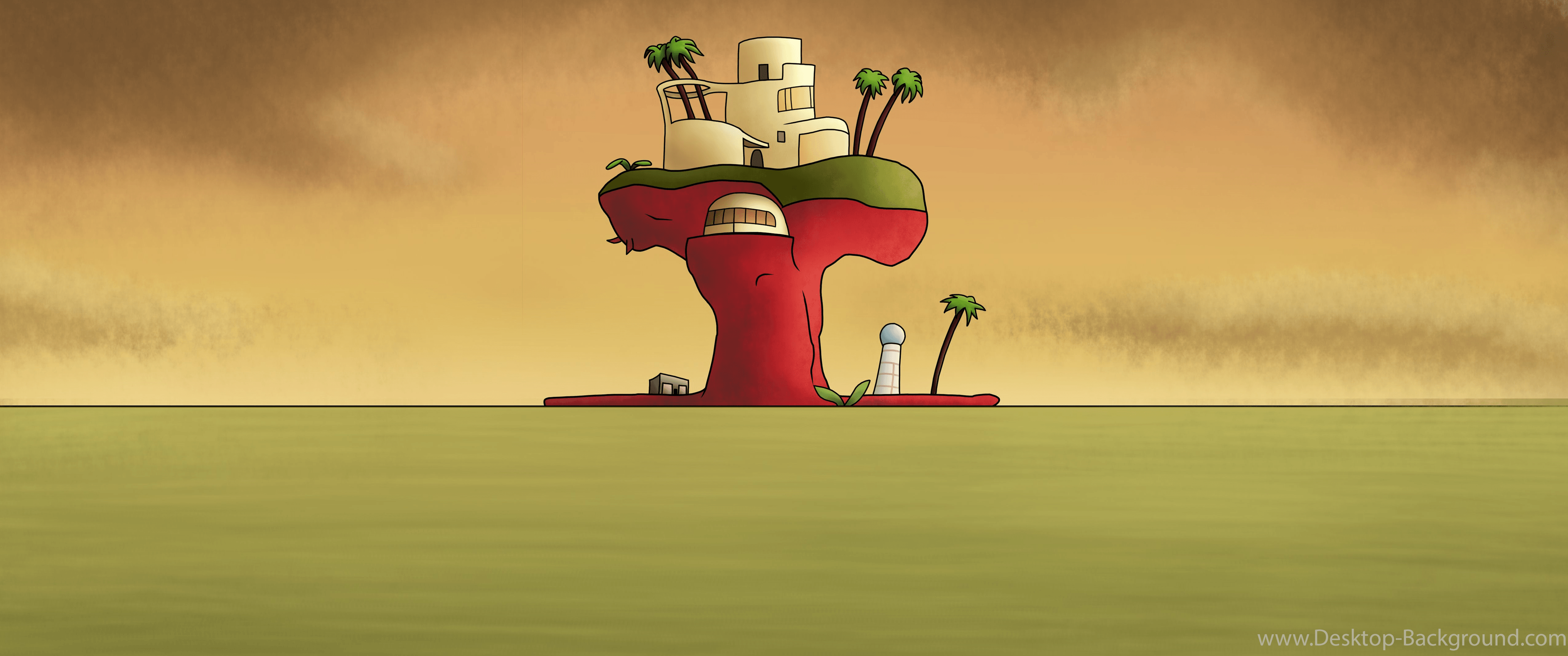 Plastic Beach Wallpapers