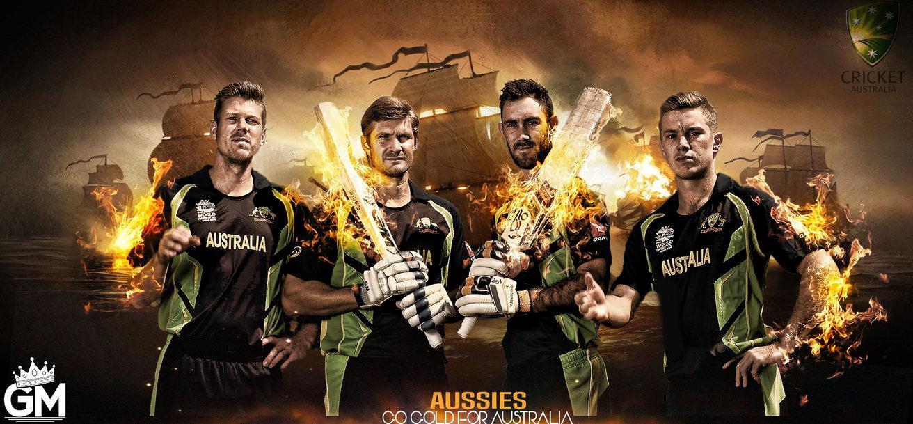 Australian Cricket Team Zoom Background 2