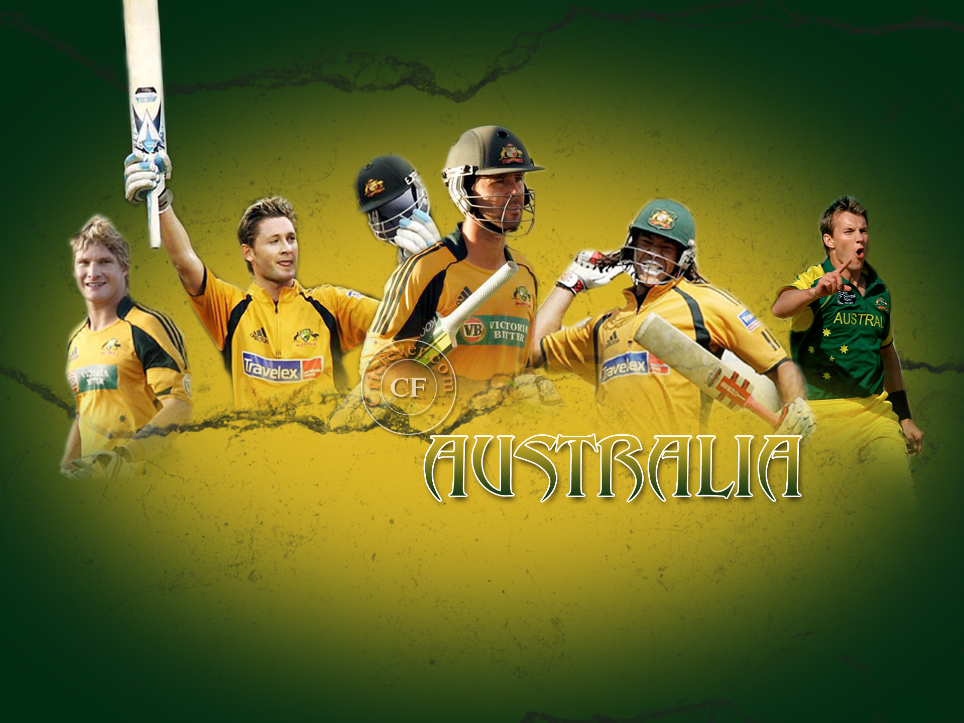 Australian Cricket Team Background 10