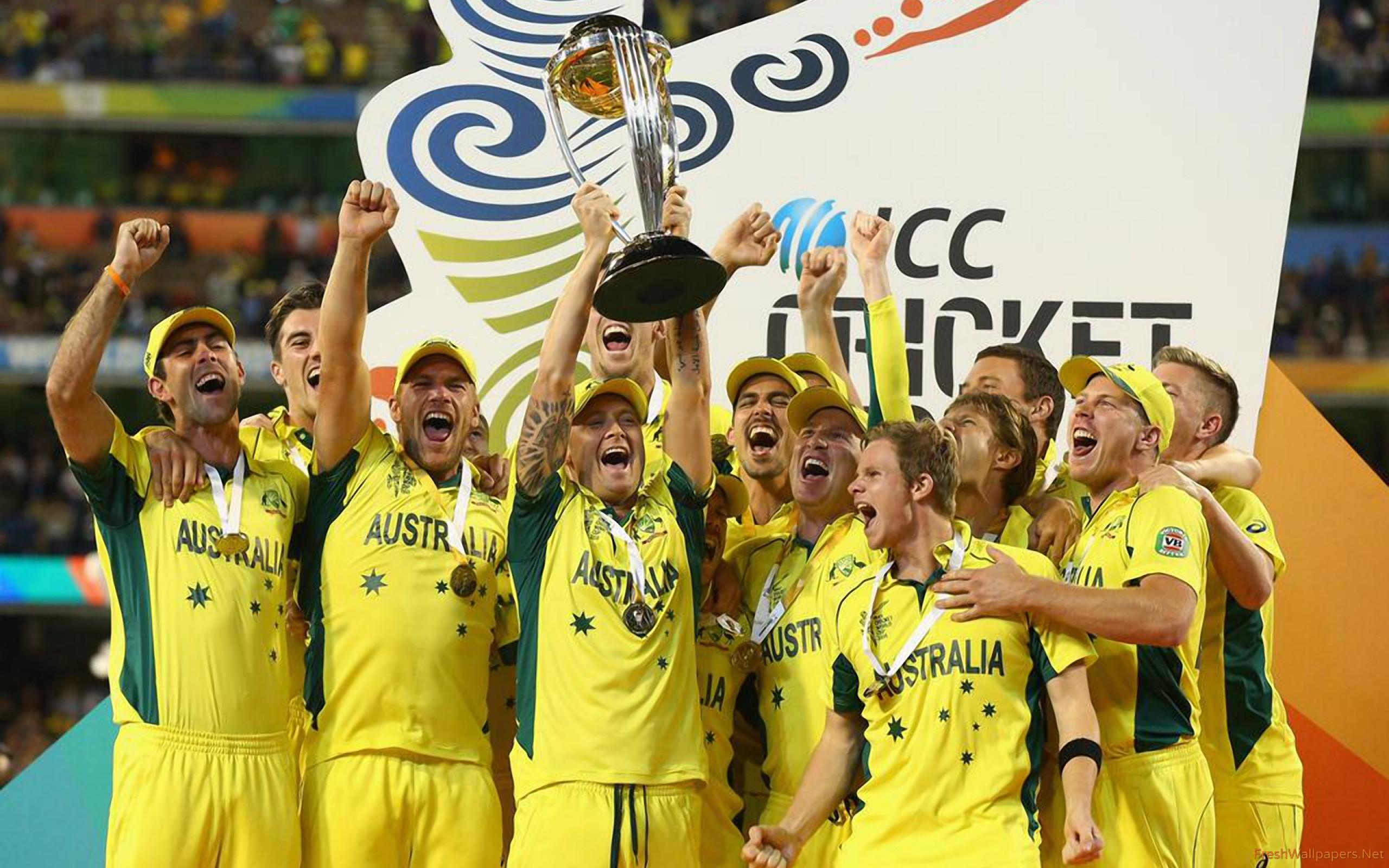 Australian Cricket Team Zoom Background 3