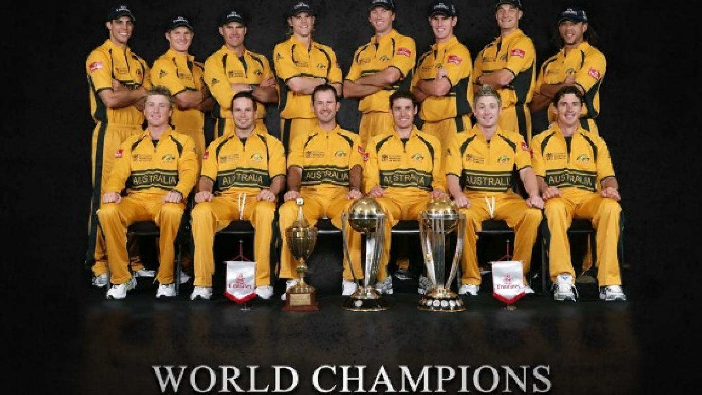 Australian Cricket Team Zoom Background 6