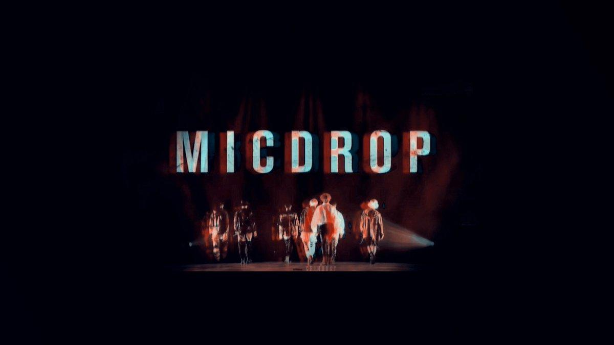 KPOP Wallpapers on Twitter: Mic Drop Desktop Wallpaper…