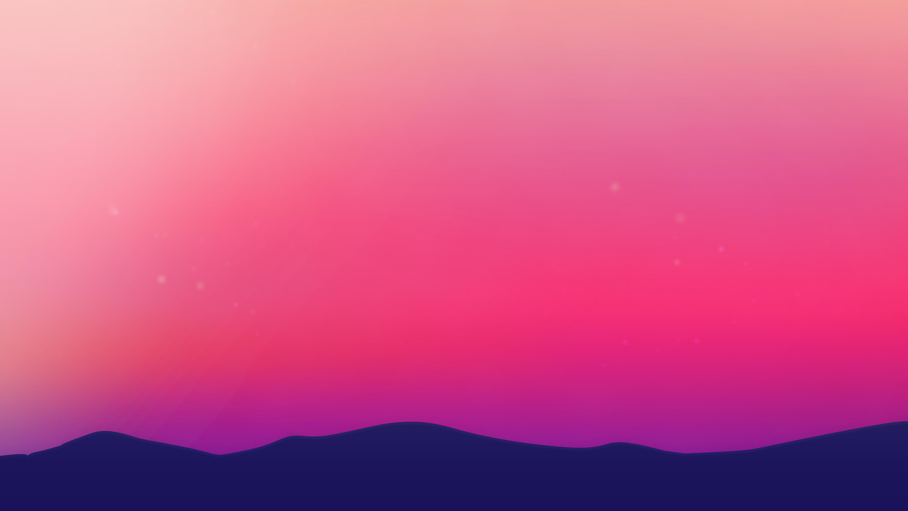 Purple Horizon Landscape Wallpapers Wallpaper Cave
