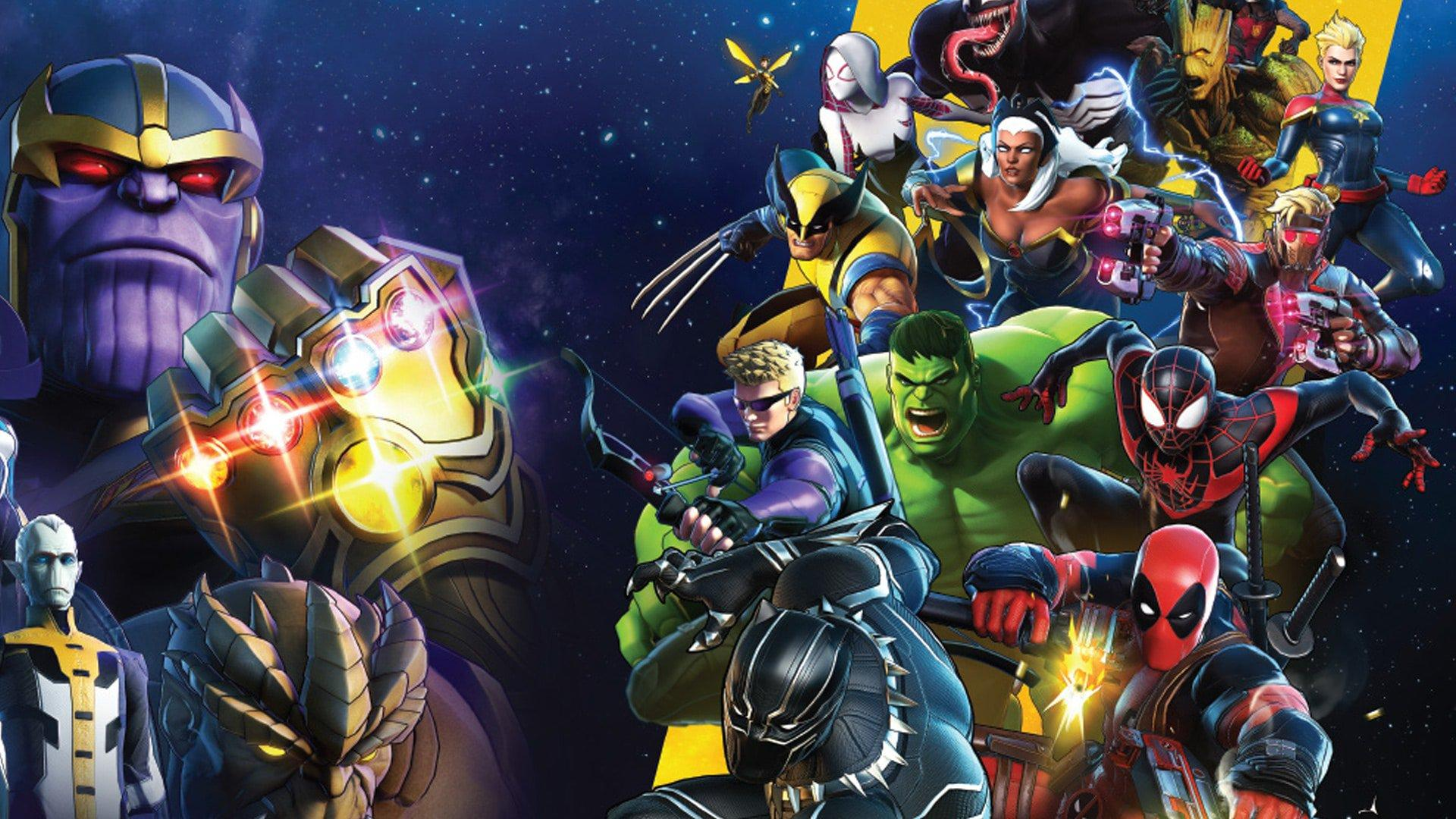 Marvel Ultimate Alliance 3 Wallpapers Wallpaper Cave