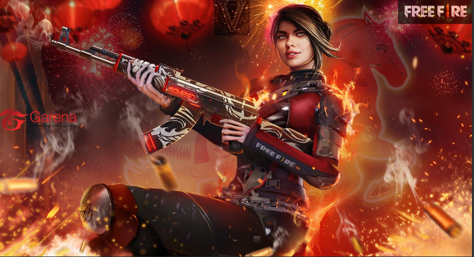 Paloma Garena Free Fire Wallpapers Wallpaper Cave