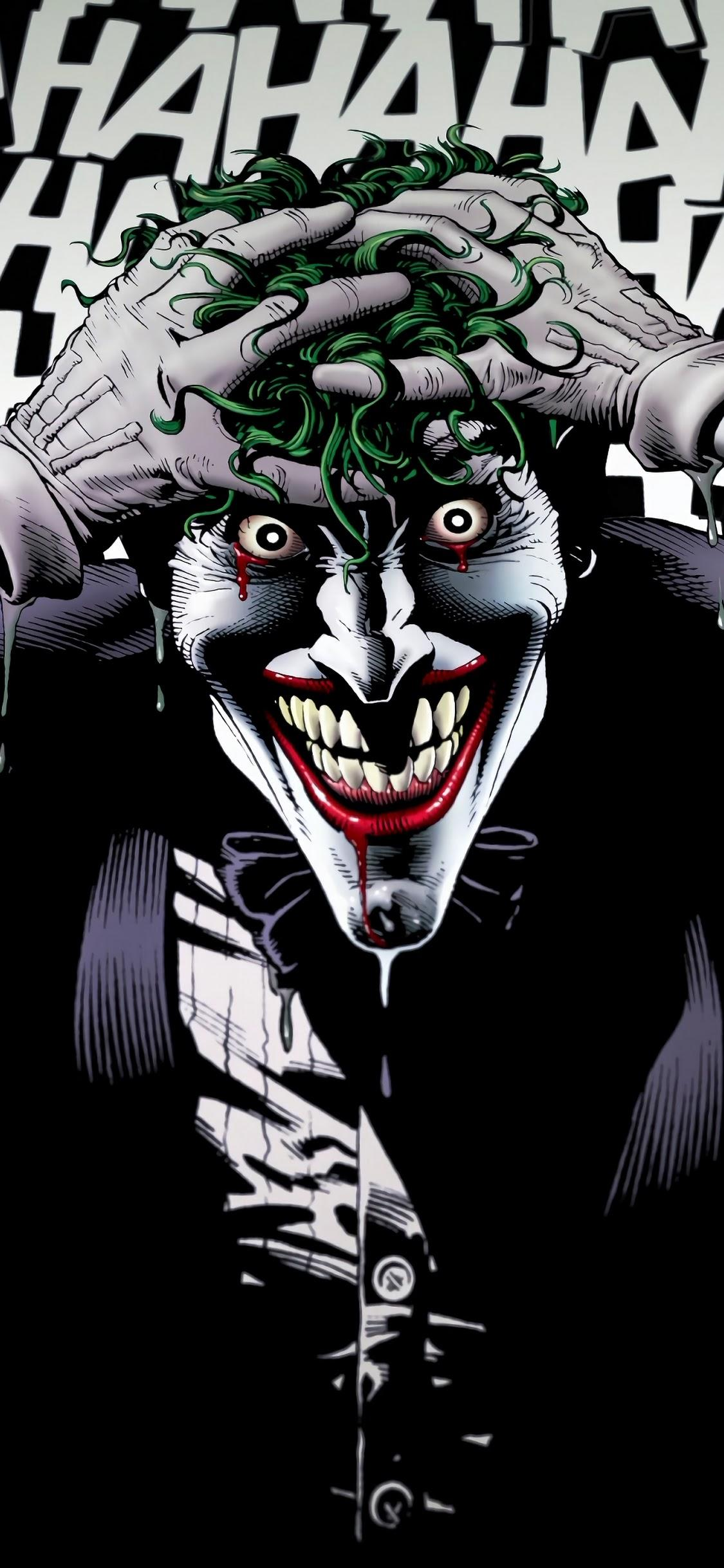 Joker Laughing Wallpapers Wallpaper Cave