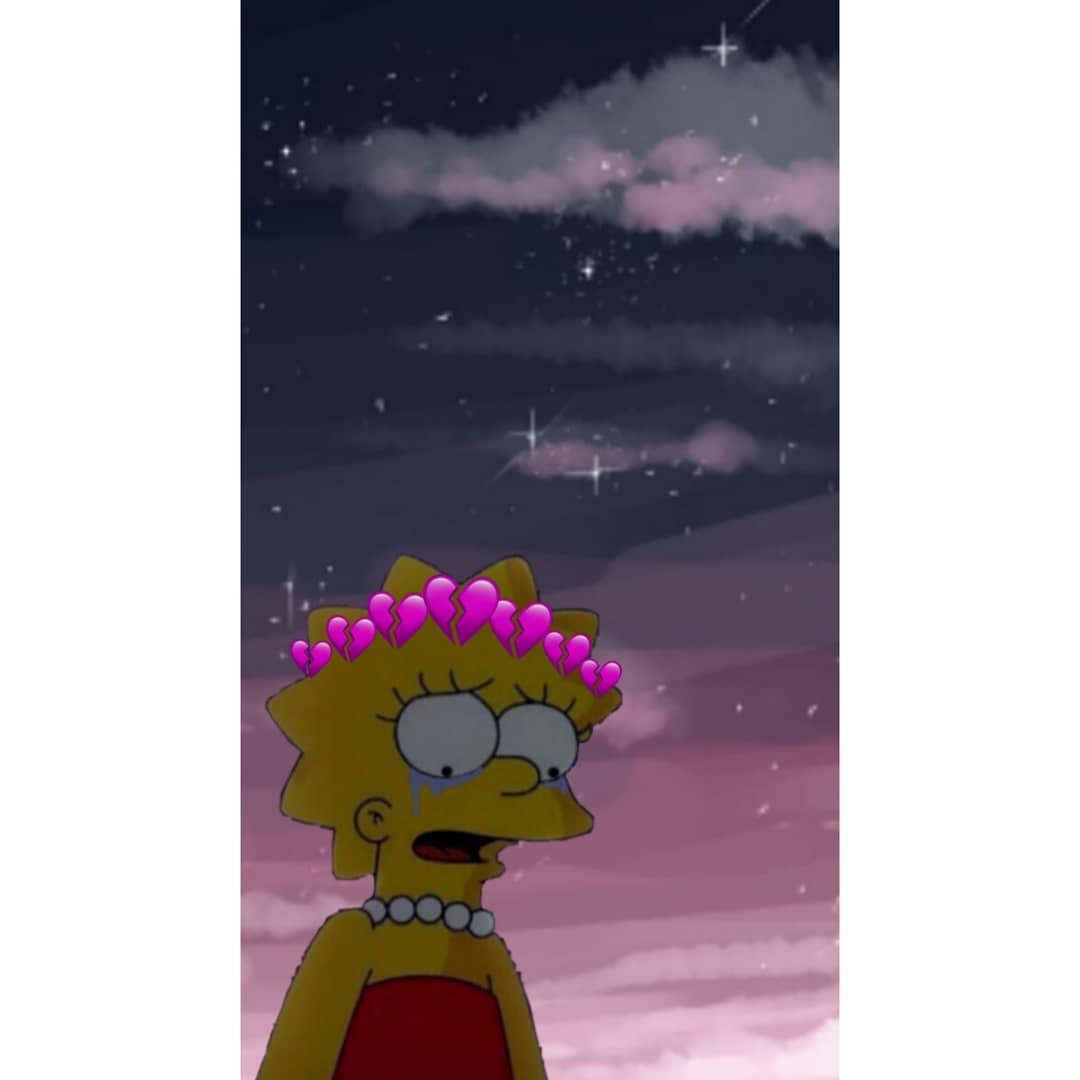 Sad Lisa Simpson Wallpapers