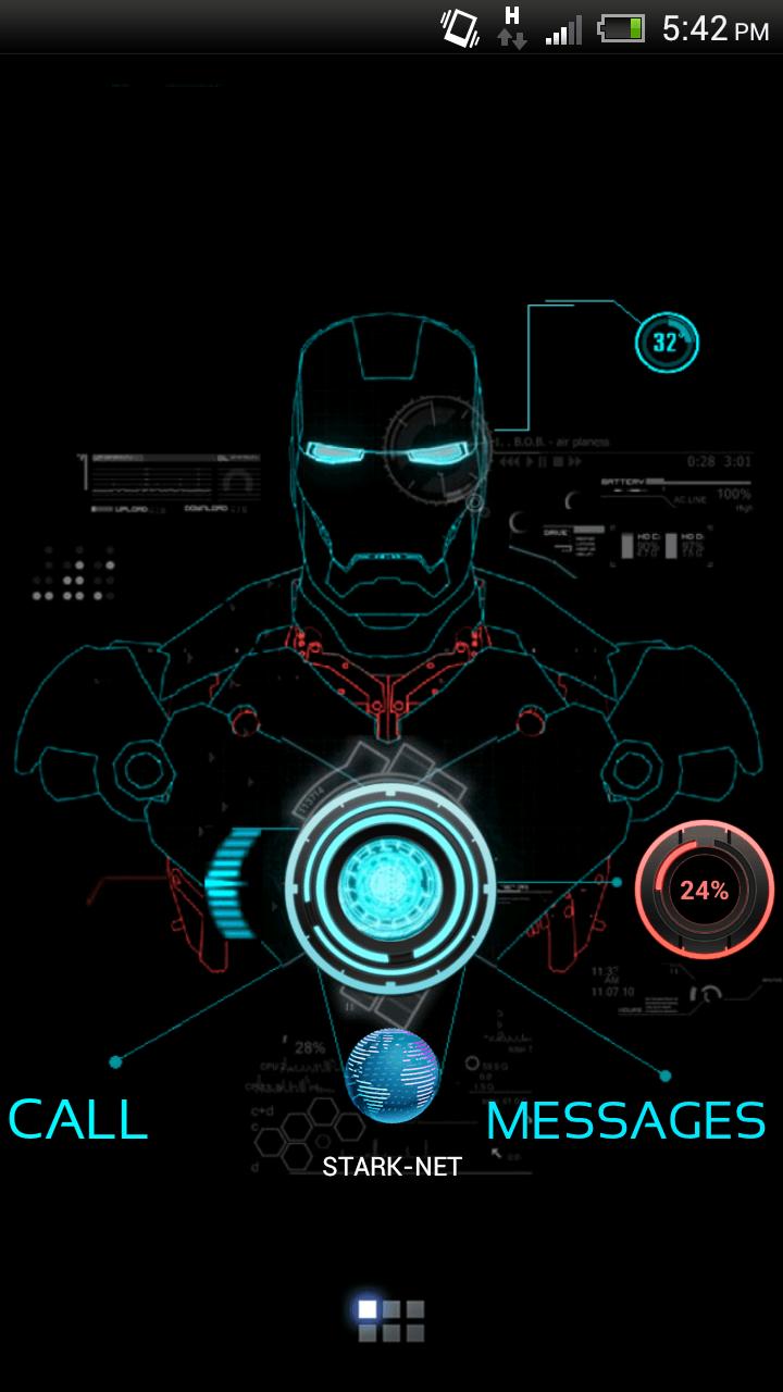 Iron Man Neon Wallpapers - Wallpaper Cave