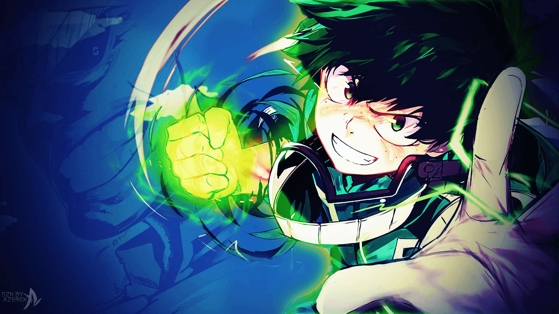 My Hero Academia Deku Wallpapers Wallpaper Cave