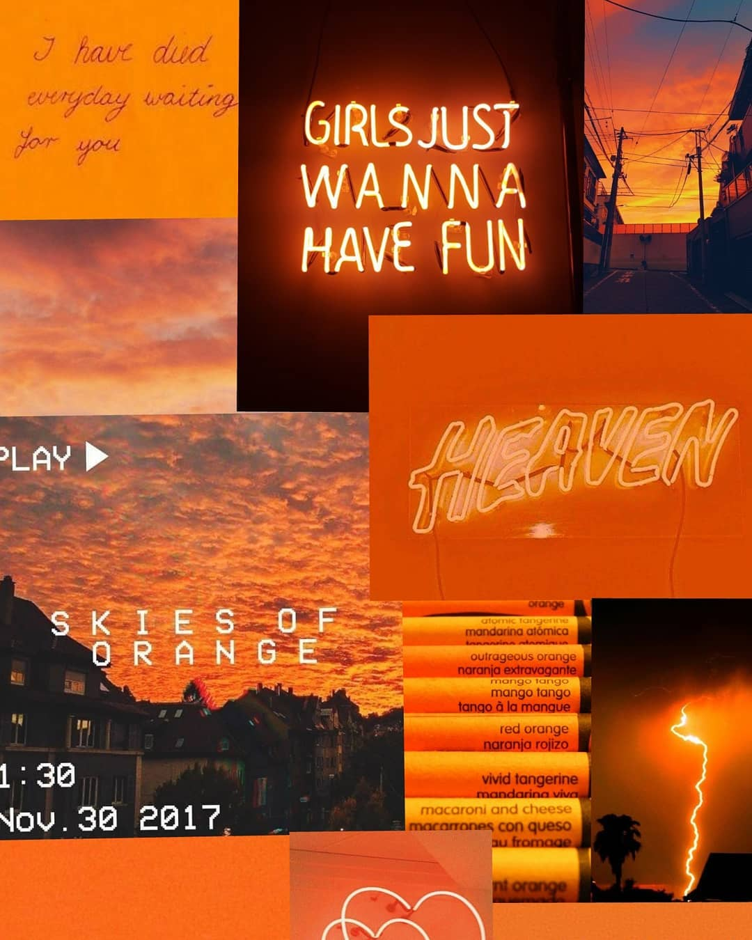 orangecollage • Browse image about orangecollage at Instagram