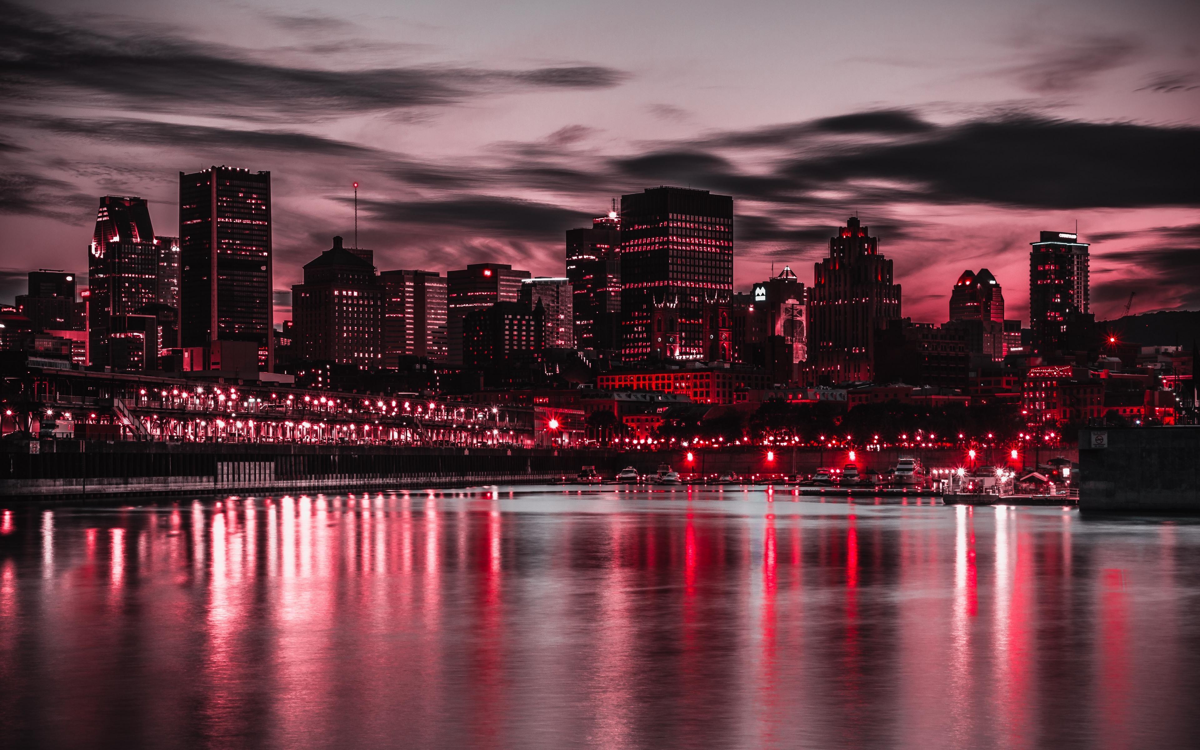 City Buildings Night Wallpapers - Wallpaper Cave