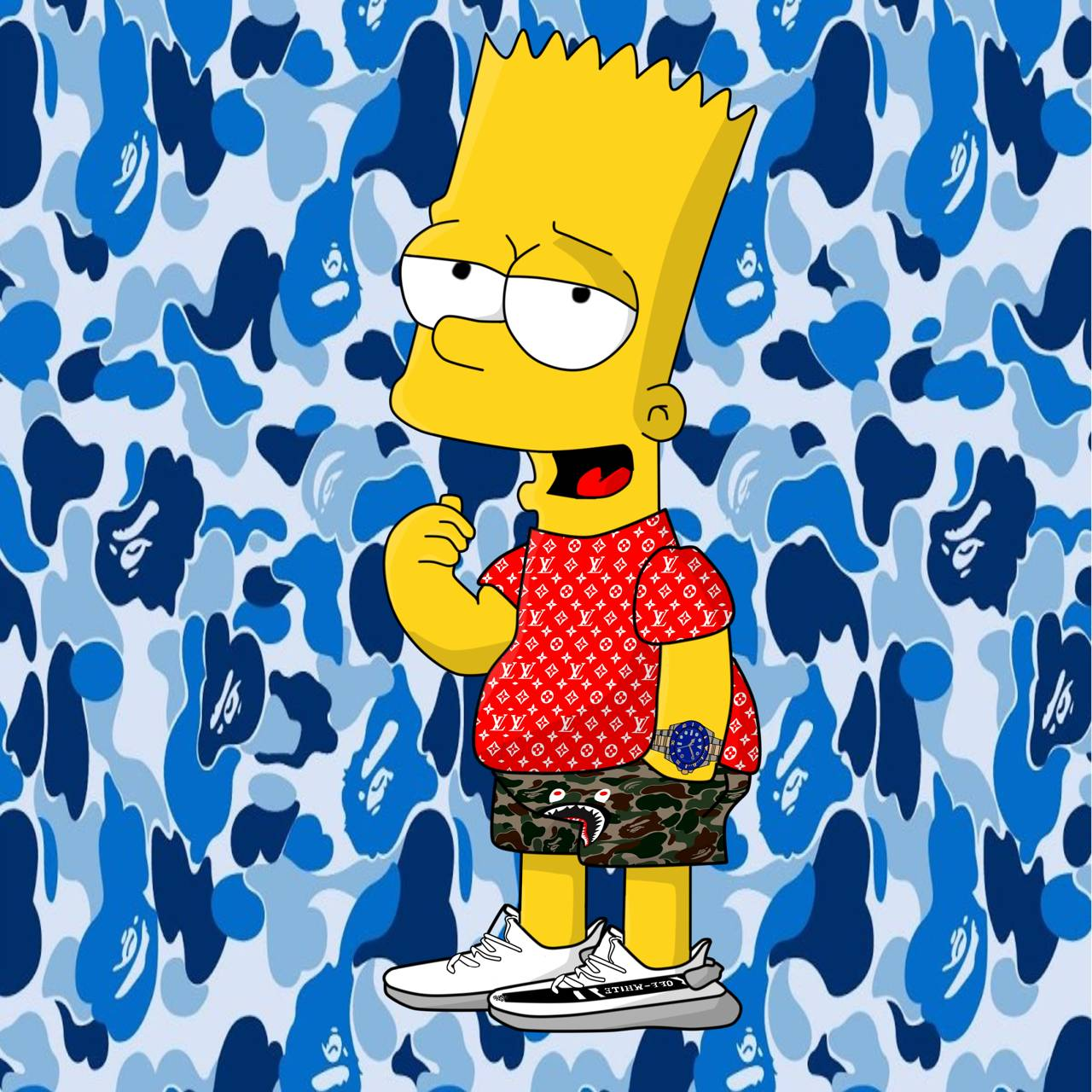Bart Hypebeast Transparent & PNG Clipart Free Download