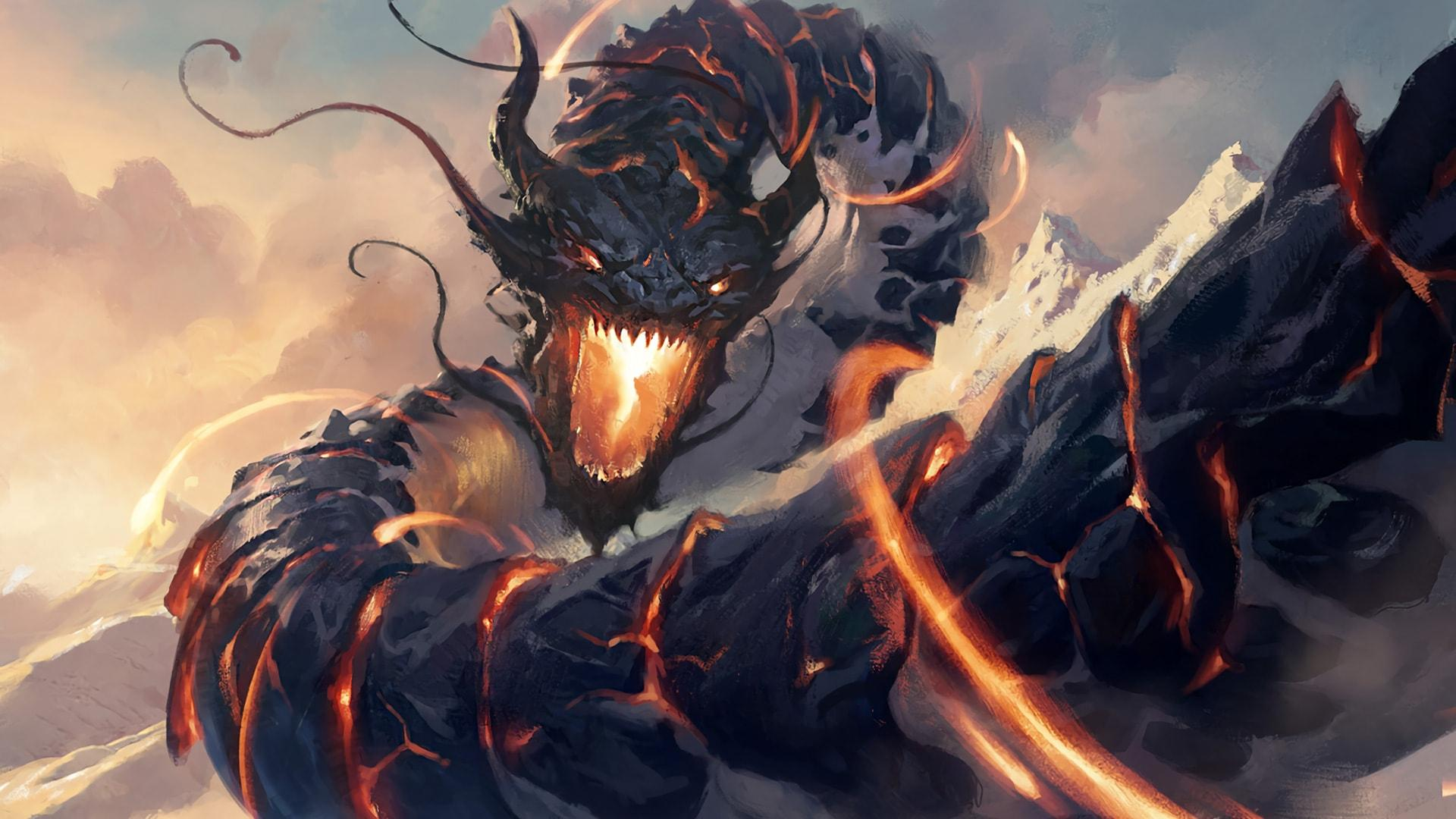 Dragon Fantasy Art Wallpapers Wallpaper Cave