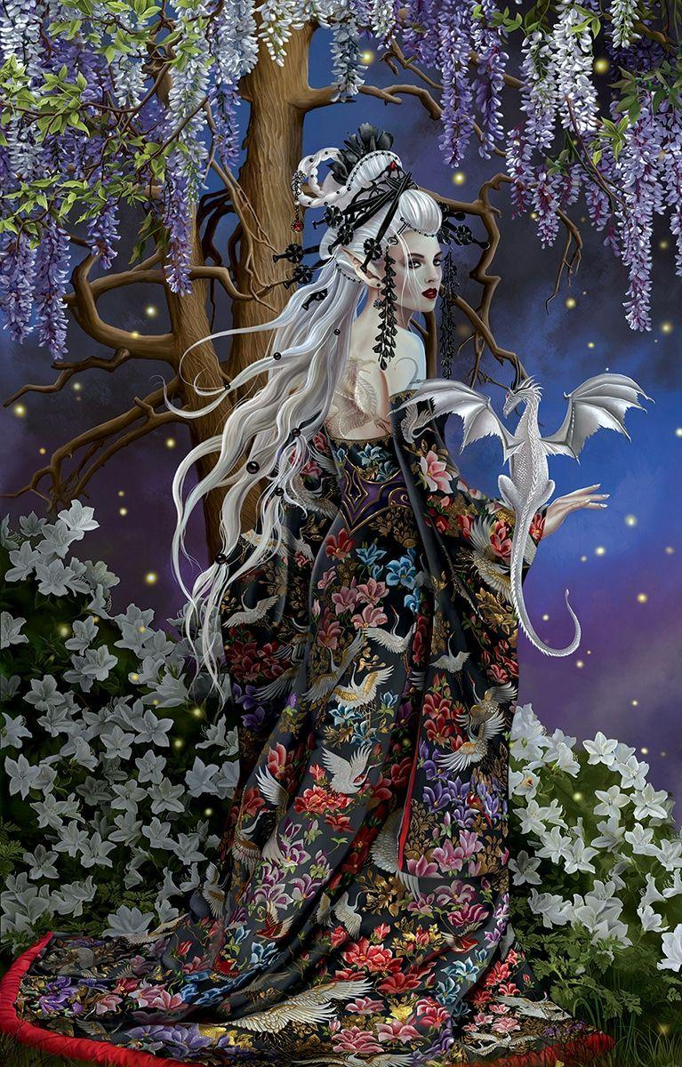 Garden Fairy Wallpapers Wallpaper Cave
