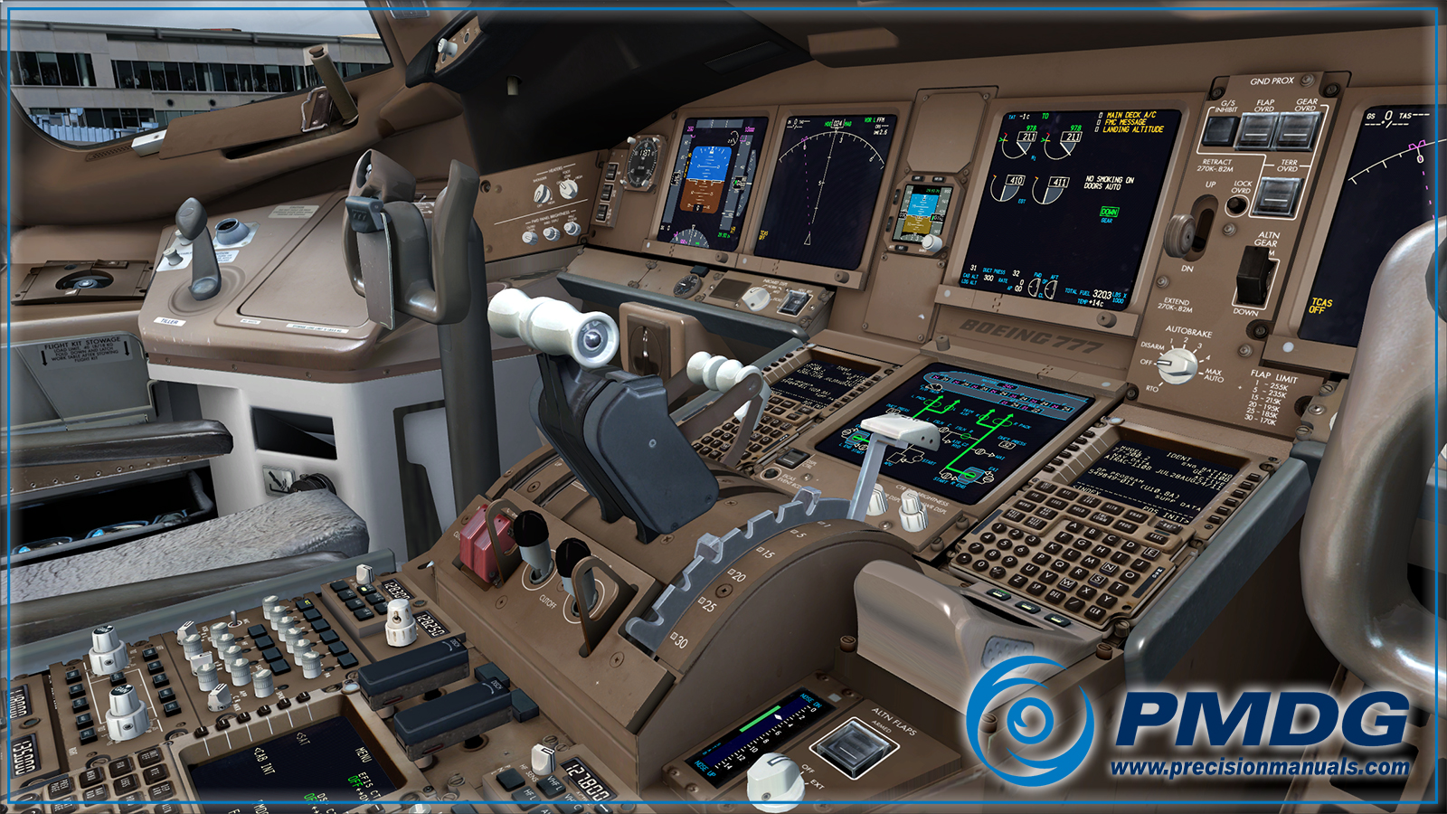Boeing 777 Cockpit Wallpapers - Wallpaper Cave