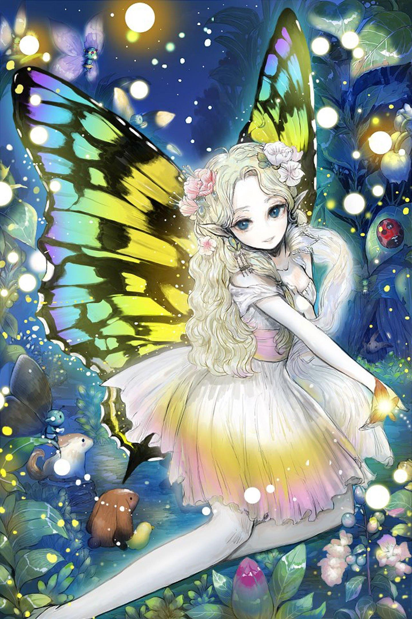 Anime Cute Fairy Wallpapers - Wallpaper Cave