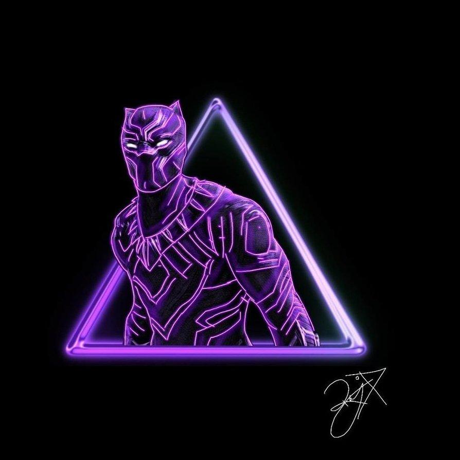 Black Panther Purple Wallpapers Wallpaper Cave