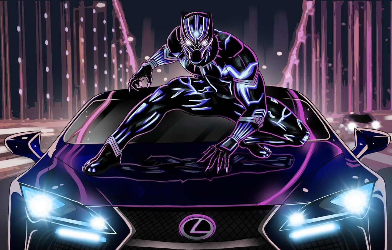 Neon Black Panther Wallpapers - Wallpaper Cave