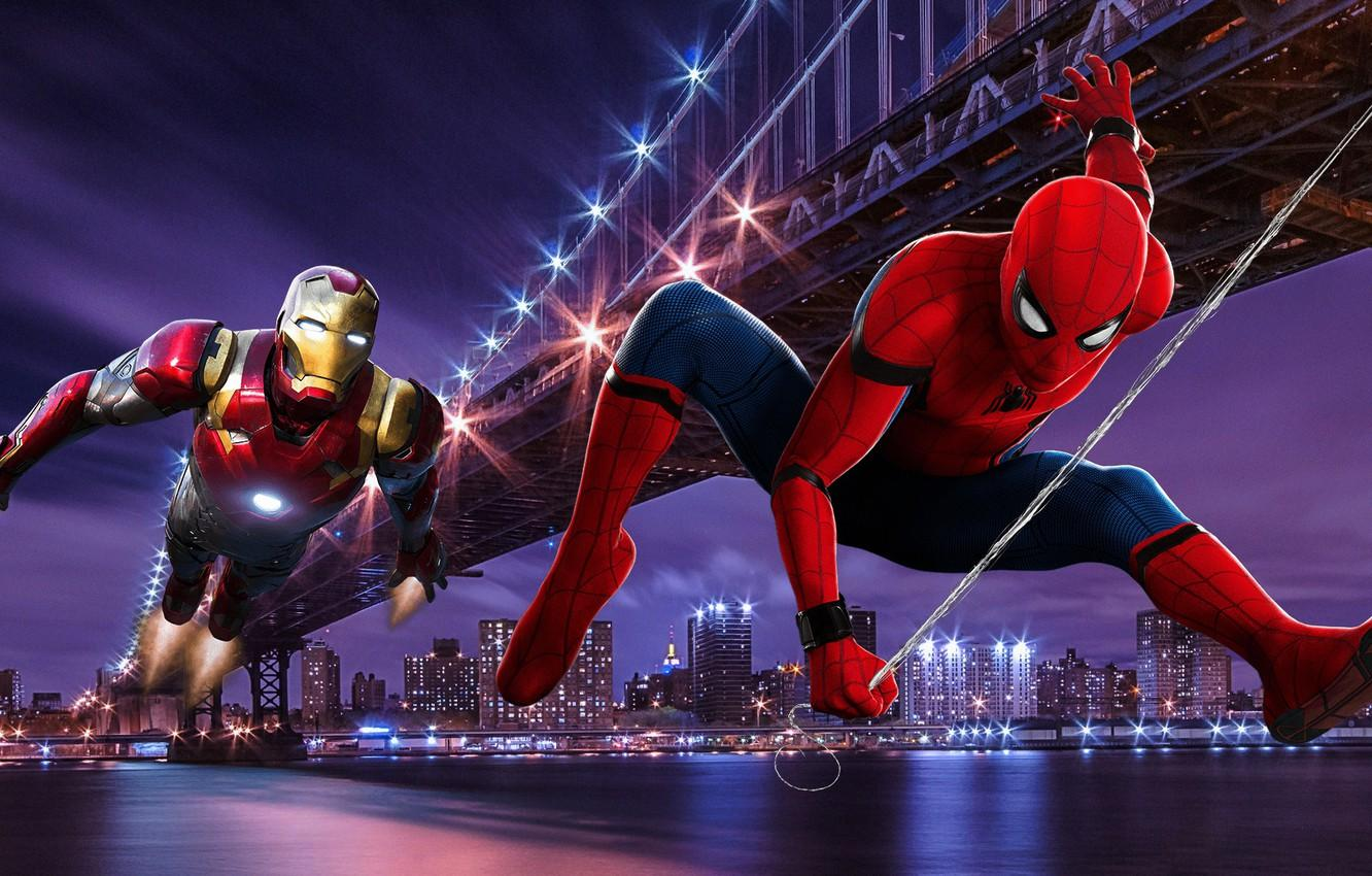 Tony Stark And Peter Parker Wallpapers - Wallpaper Cave