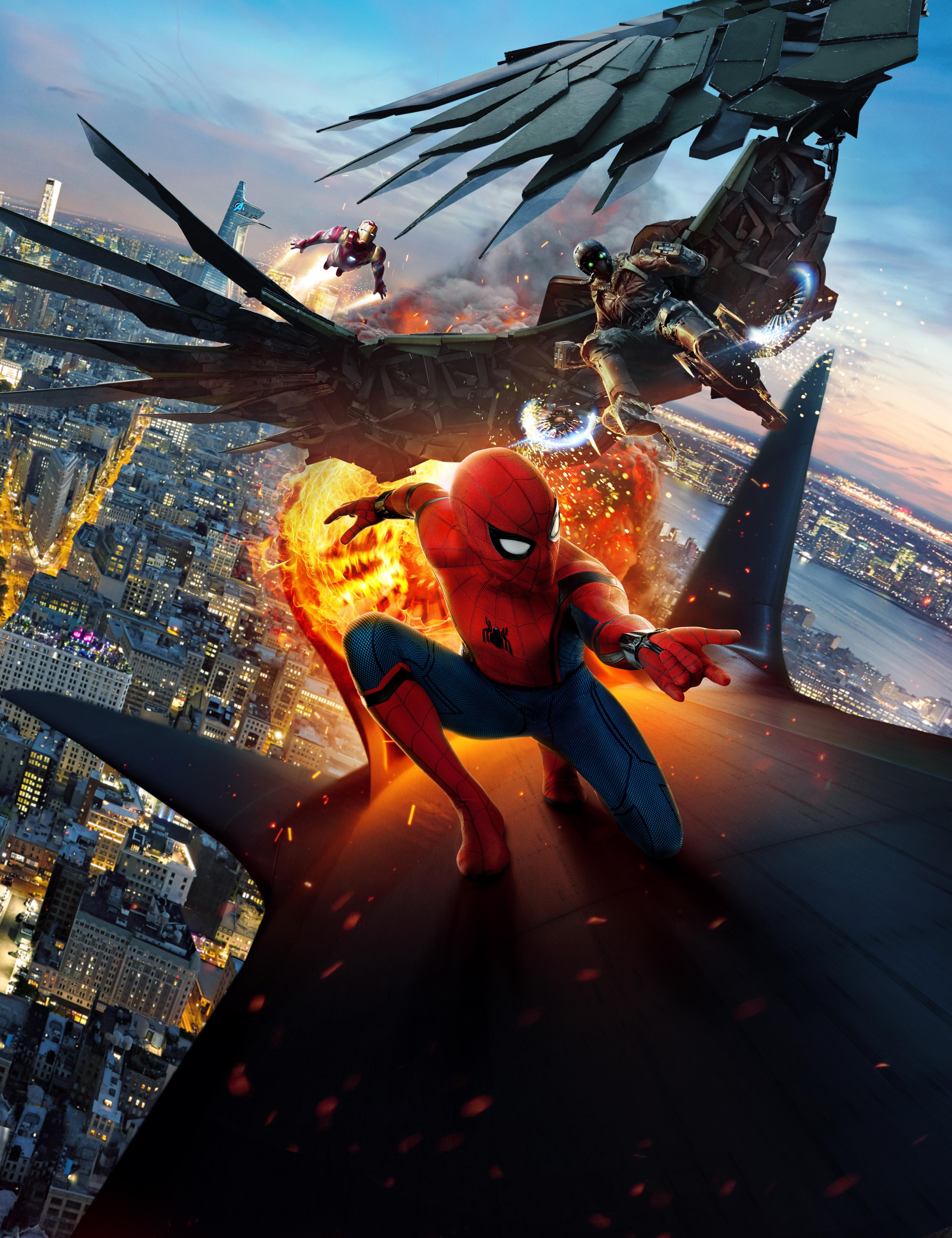 Spider Man And Iron Man Wallpapers Wallpaper Cave
