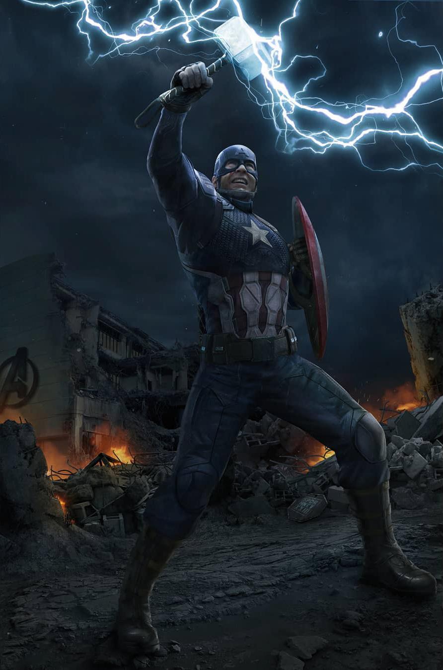 Endgame Captain America Wallpapers - Wallpaper Cave