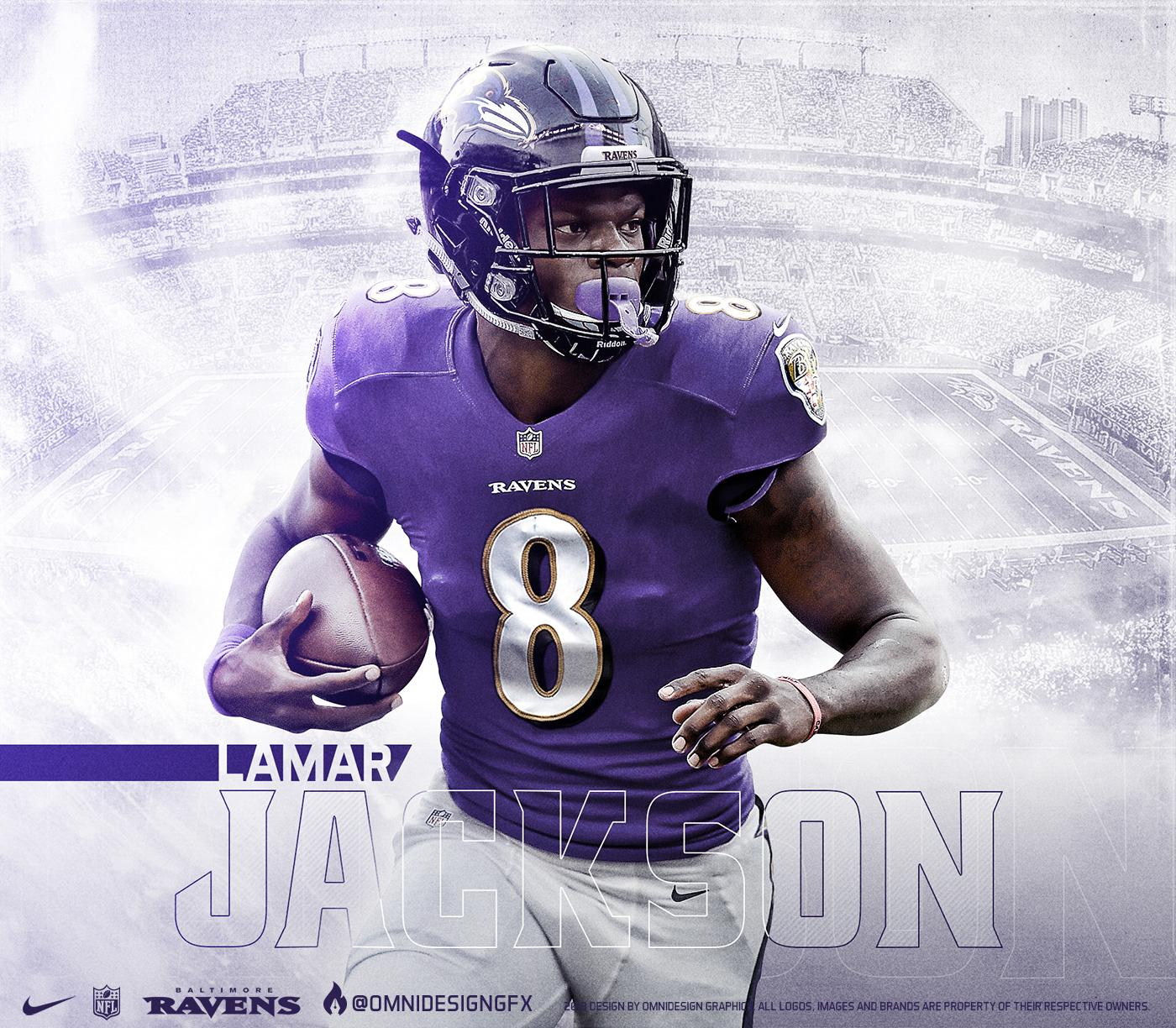 half off 44f29 487a4 Lamar Jackson Baltimore Ravens Wallpapers - Wallpaper Cave