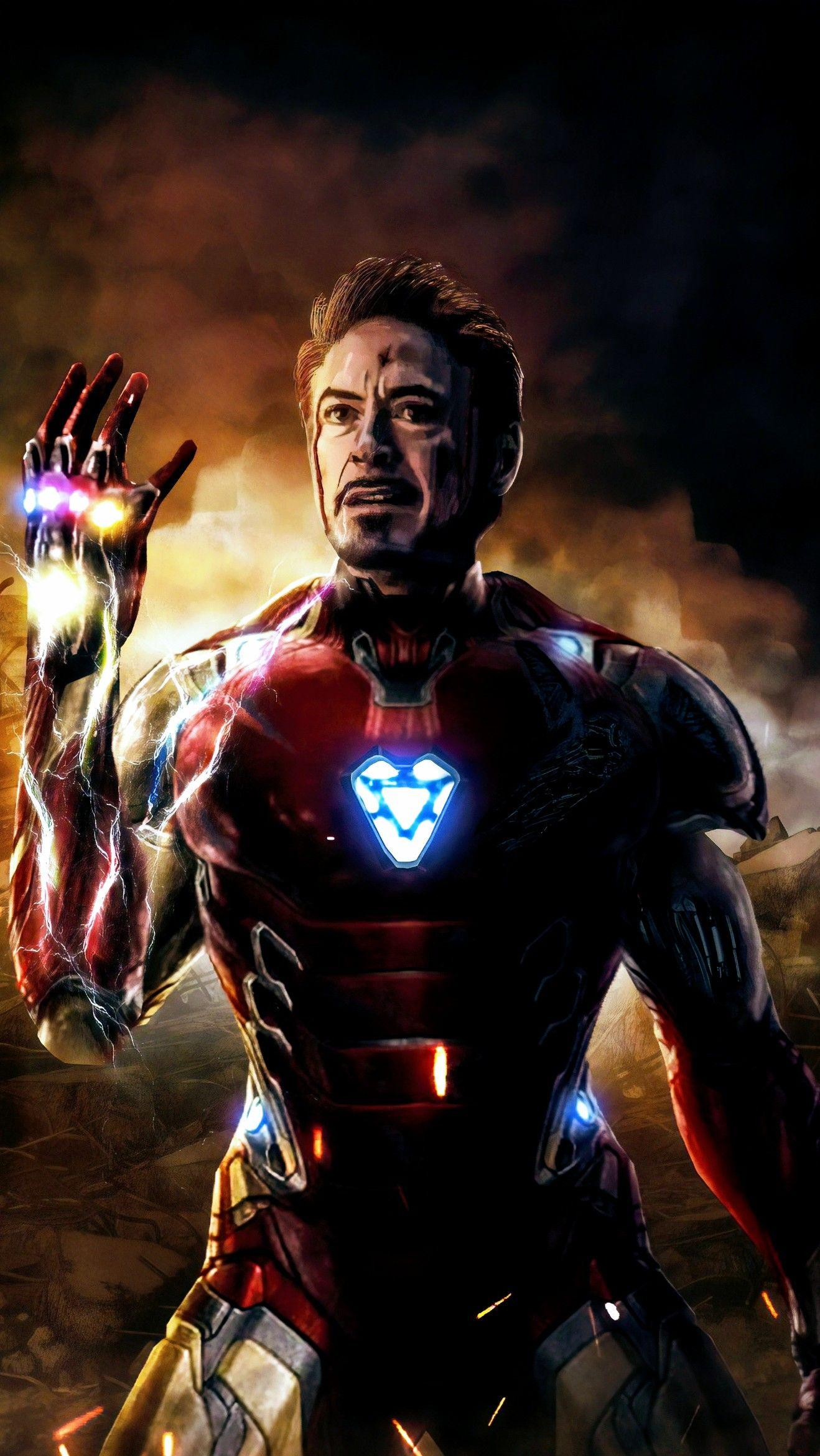 Iron Man With Gauntlet Wallpapers Wallpaper Cave