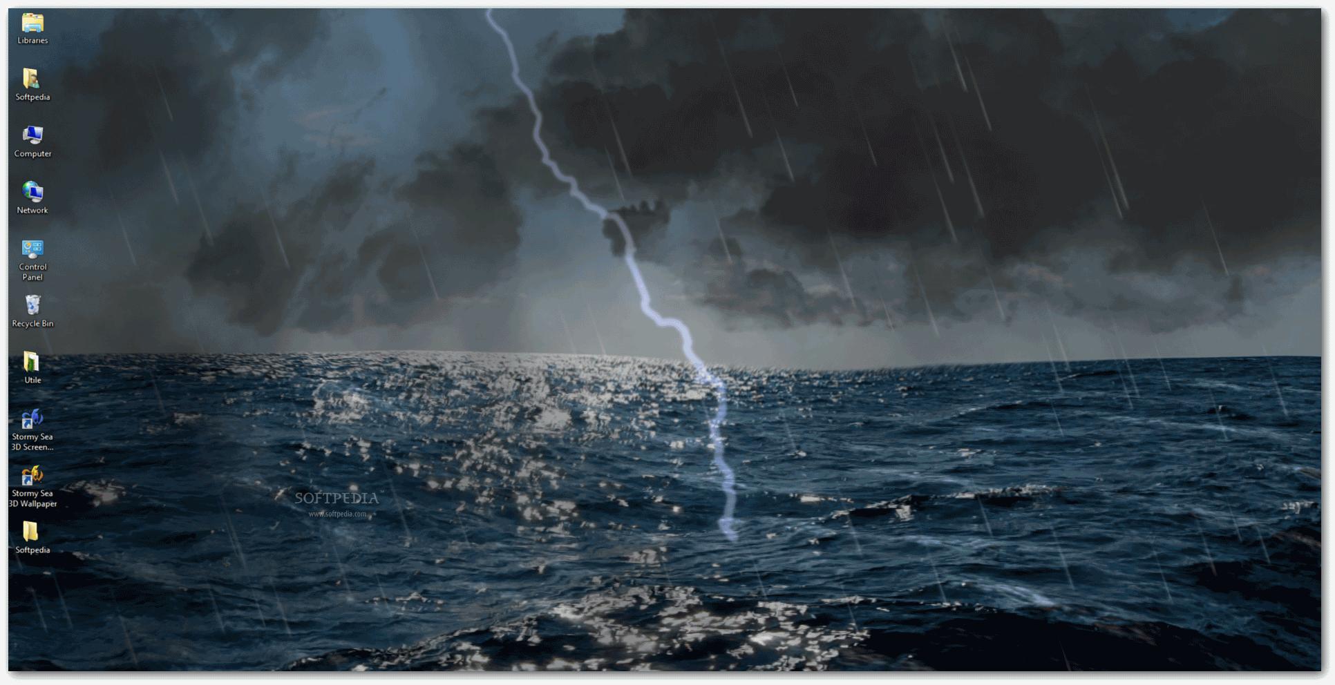 Картинки с анимацией о шторме