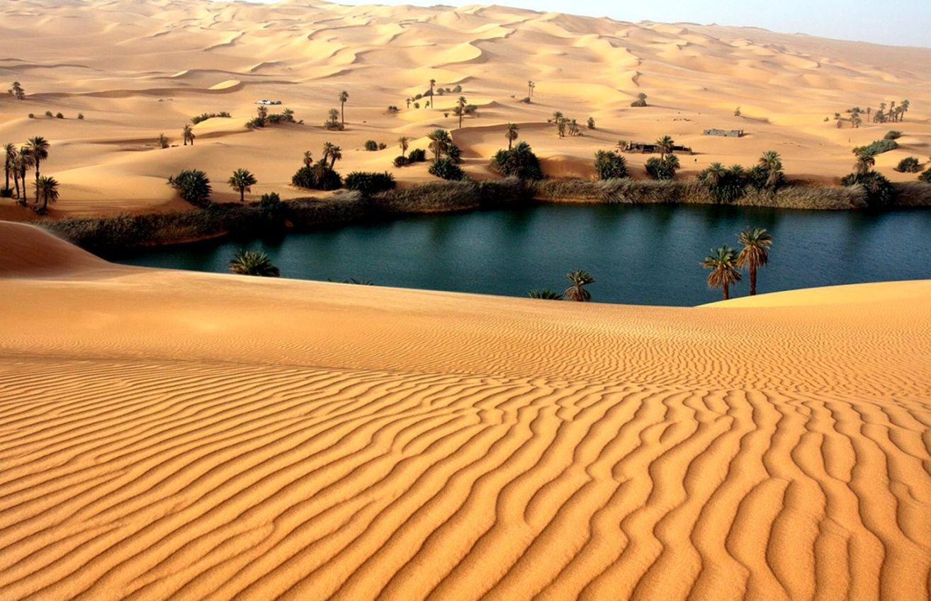 Desert Oasis Wallpapers - Wallpaper Cave