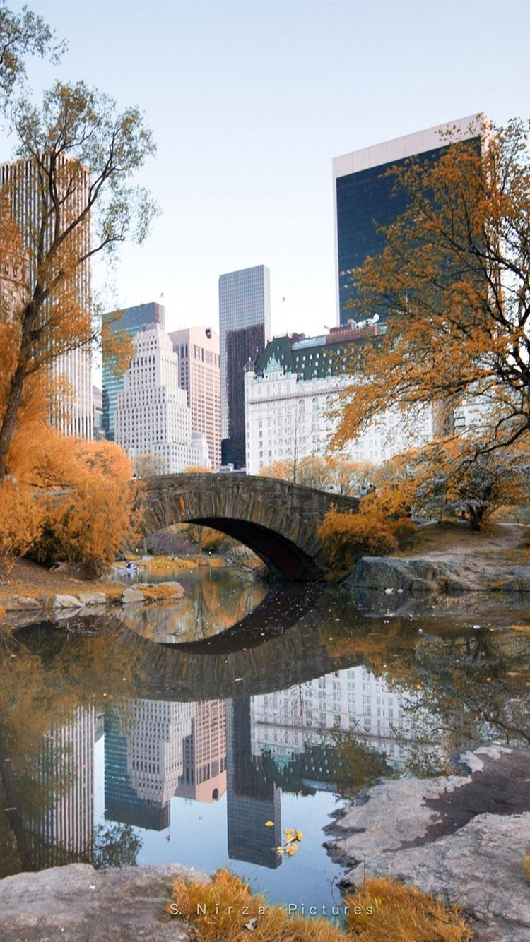 Autumn Central Park New York Wallpapers Wallpaper Cave