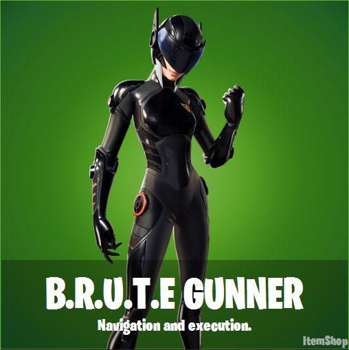 B.R.U.T.E Gunner Fortnite wallpapers