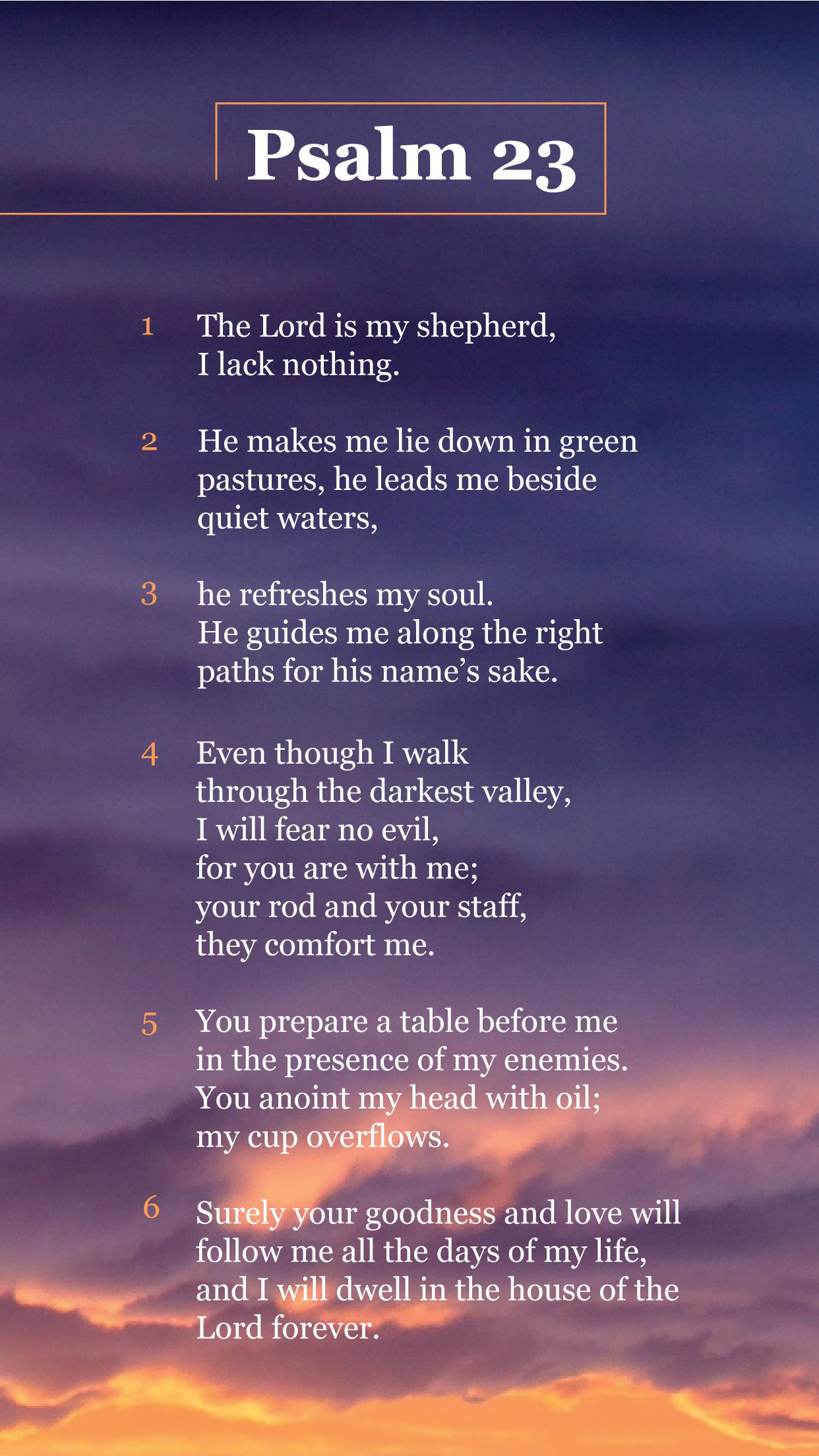 Psalm 23 Wallpapers Wallpaper Cave