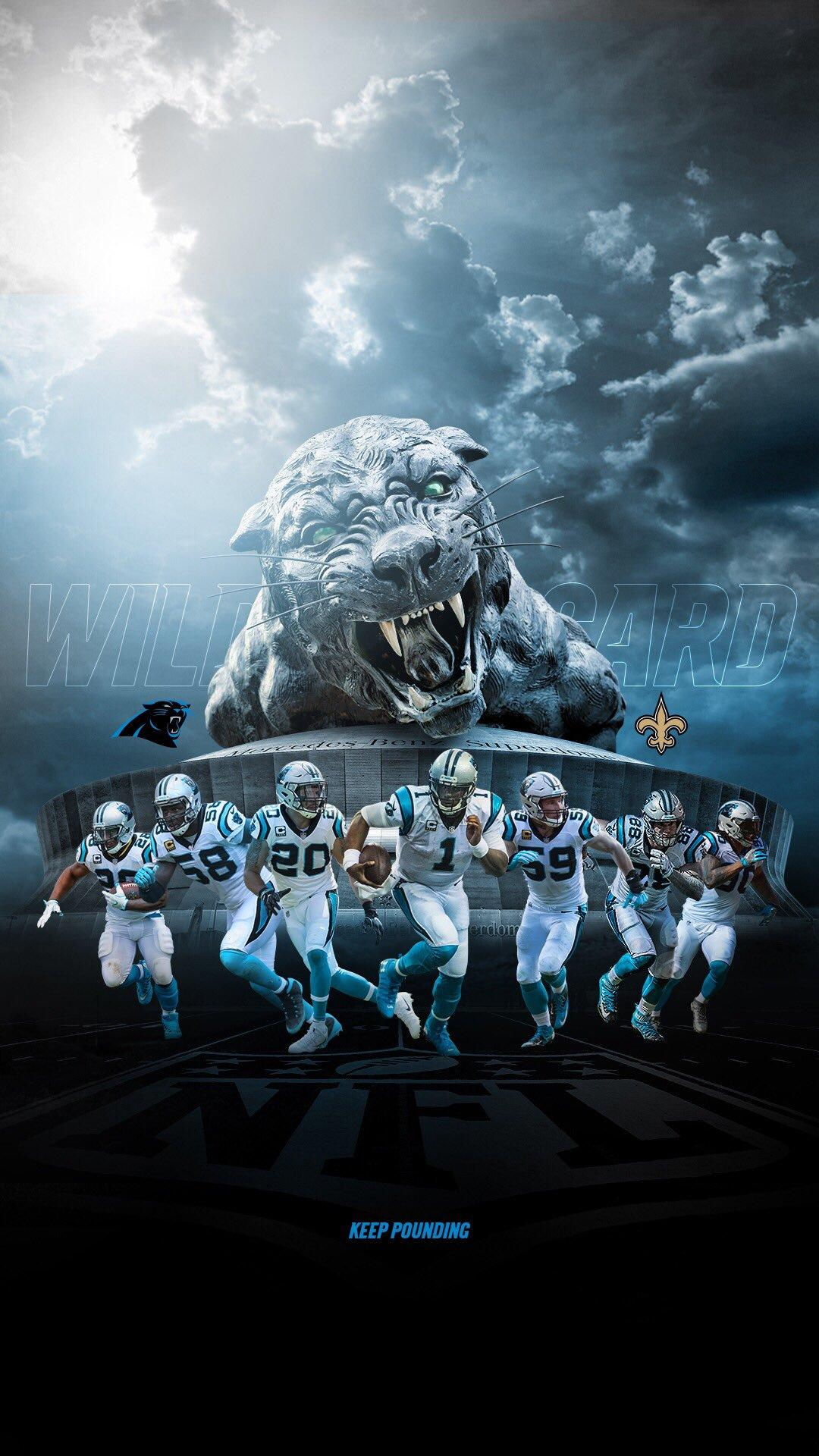 Carolina Panthers on Twitter: Gameday wallpapers ⬇ …
