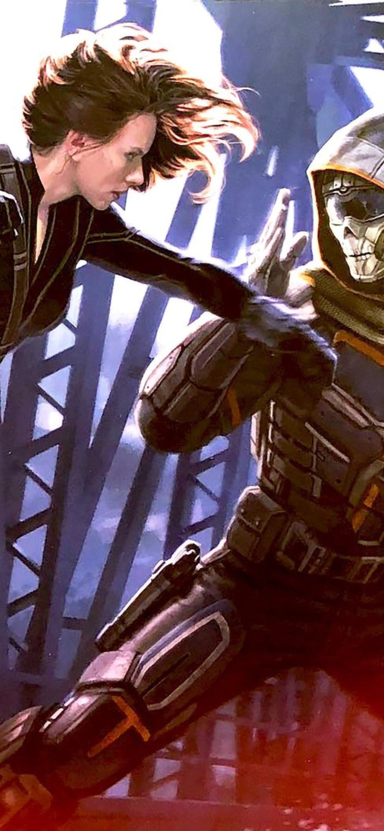 Black Widow Vs Taskmaster Wallpapers Wallpaper Cave