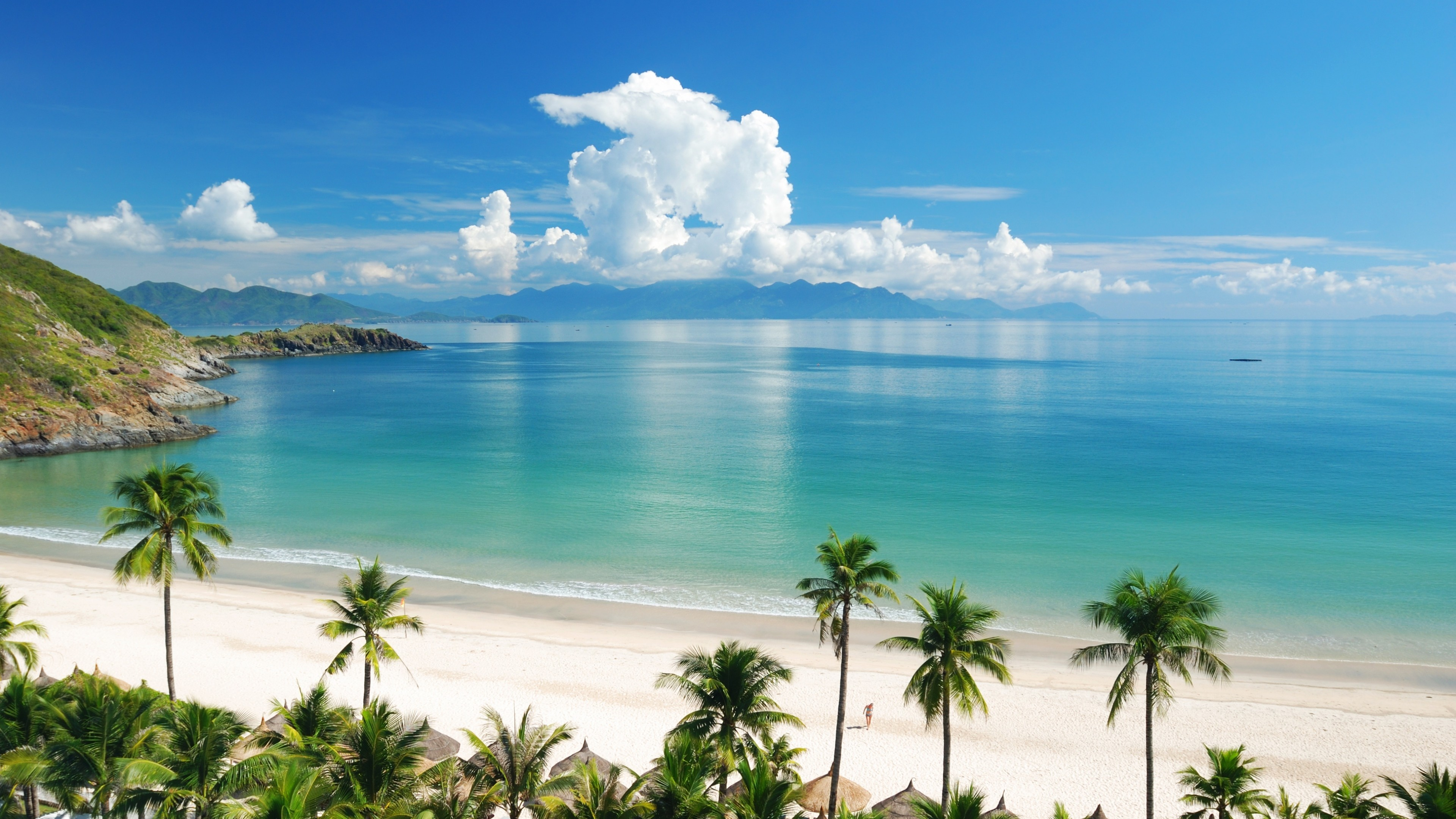 Tropical Beach Panorama Wallpapers Wallpaper Cave